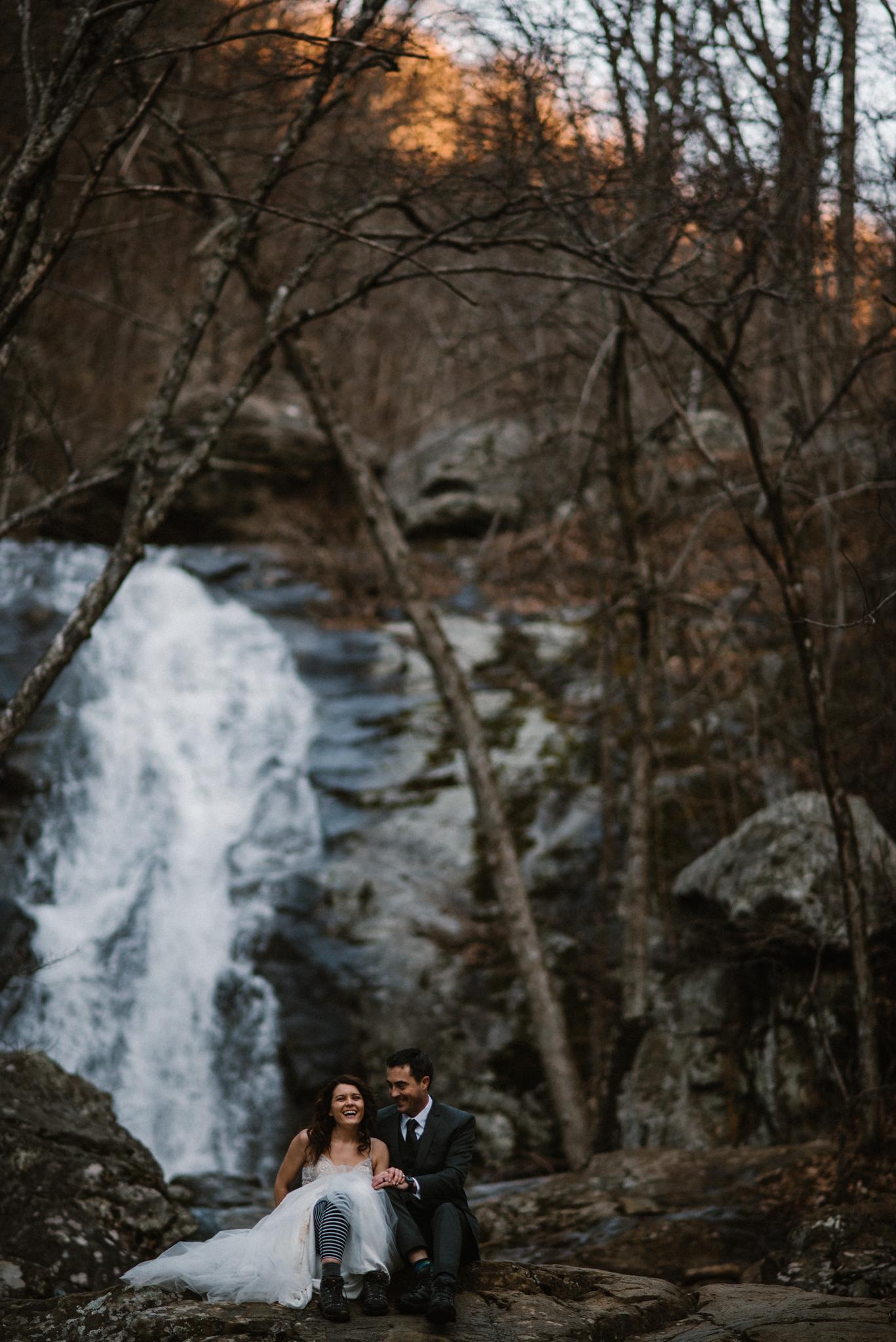 Stephanie and Steve - Shenandoah National Park Elopement - Sunrise Hiking Elopement - Adventurous Elopement - Virginia Elopement Photographer - Shenandoah national Park Wedding Photographer - White Sails Creative_15.jpg