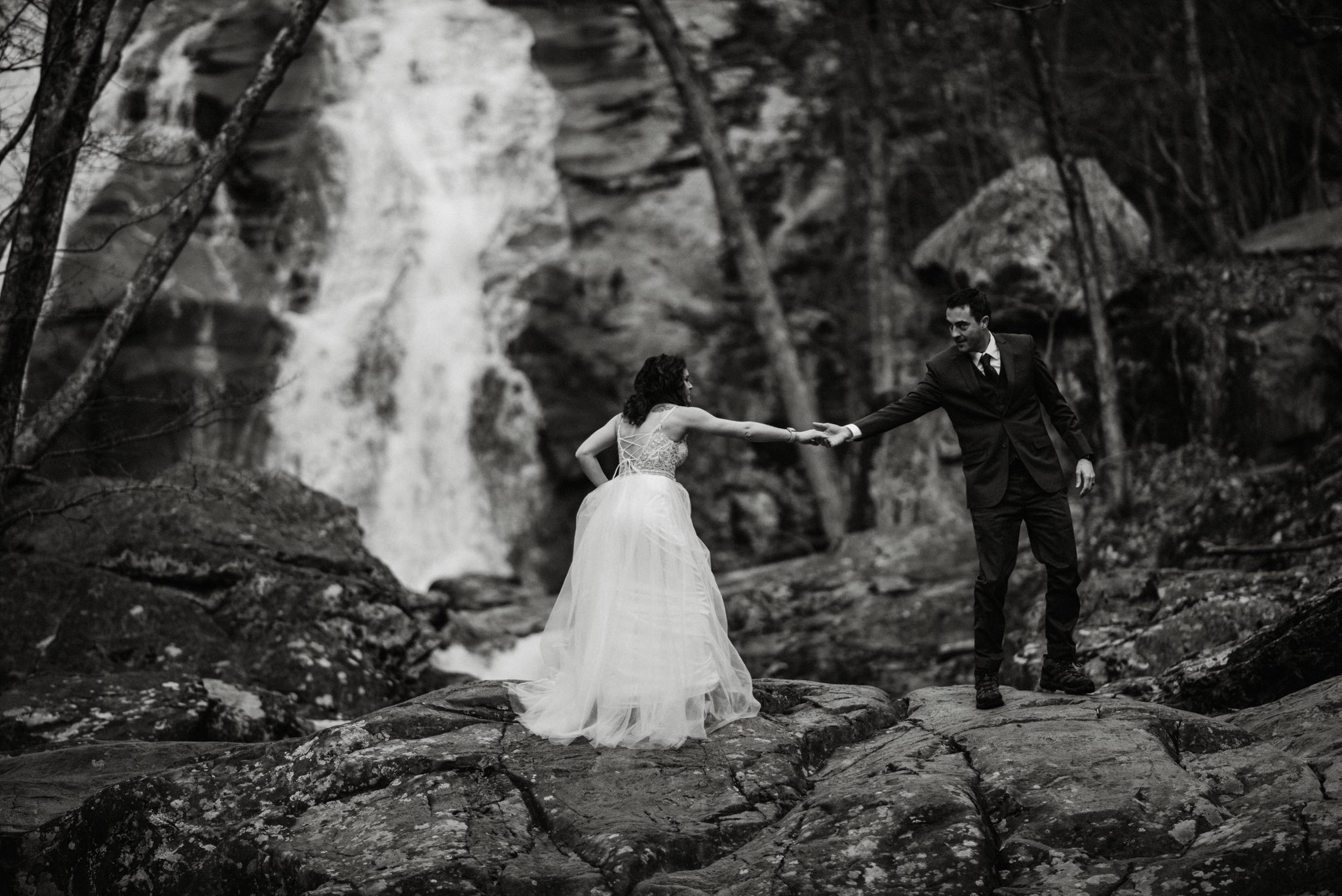 Stephanie and Steve - Shenandoah National Park Elopement - Sunrise Hiking Elopement - Adventurous Elopement - Virginia Elopement Photographer - Shenandoah national Park Wedding Photographer - White Sails Creative_16.jpg