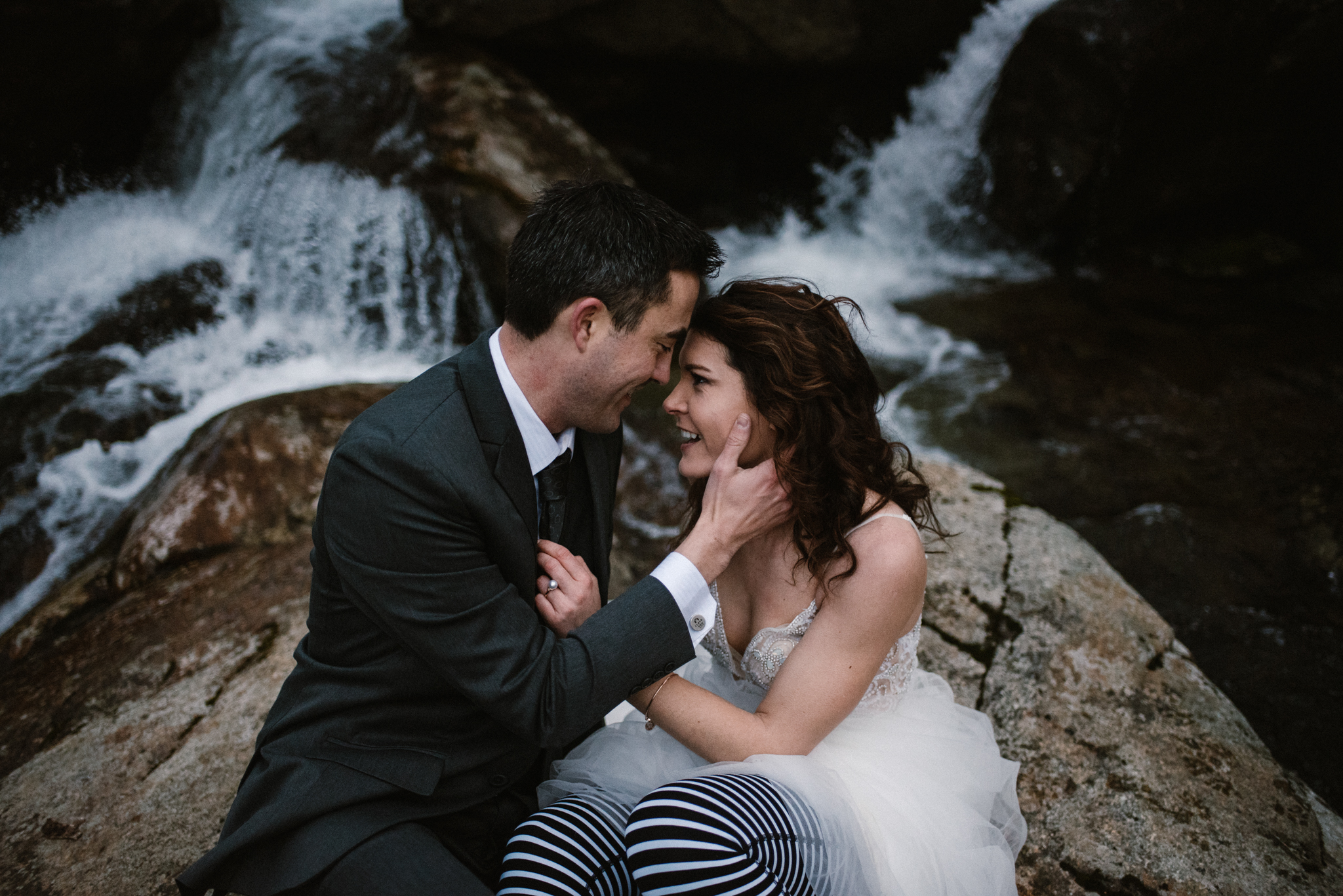 Stephanie and Steve - Shenandoah National Park Elopement - Sunrise Hiking Elopement - Adventurous Elopement - Virginia Elopement Photographer - Shenandoah national Park Wedding Photographer - White Sails Creative_22.jpg