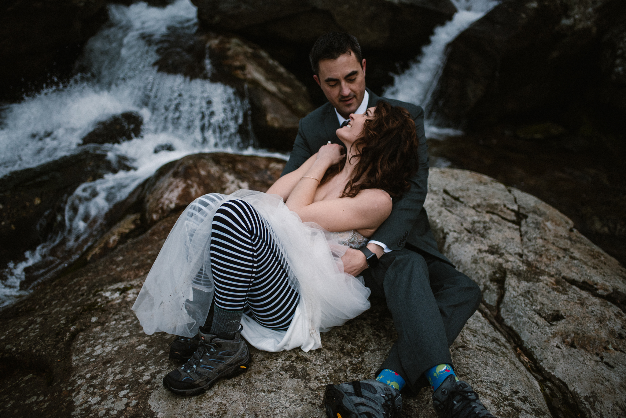 Stephanie and Steve - Shenandoah National Park Elopement - Sunrise Hiking Elopement - Adventurous Elopement - Virginia Elopement Photographer - Shenandoah national Park Wedding Photographer - White Sails Creative_26.jpg