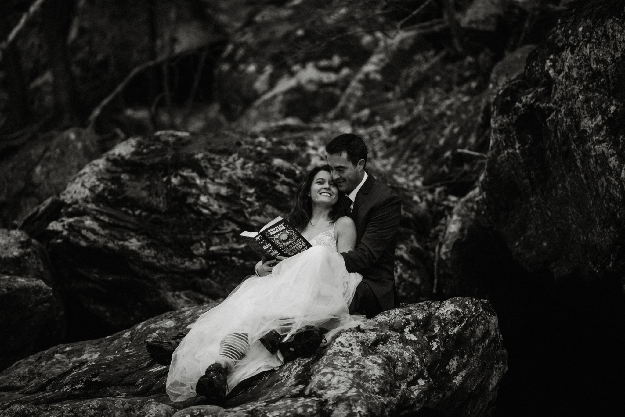Stephanie and Steve - Shenandoah National Park Elopement - Sunrise Hiking Elopement - Adventurous Elopement - Virginia Elopement Photographer - Shenandoah national Park Wedding Photographer - White Sails Creative_33.jpg