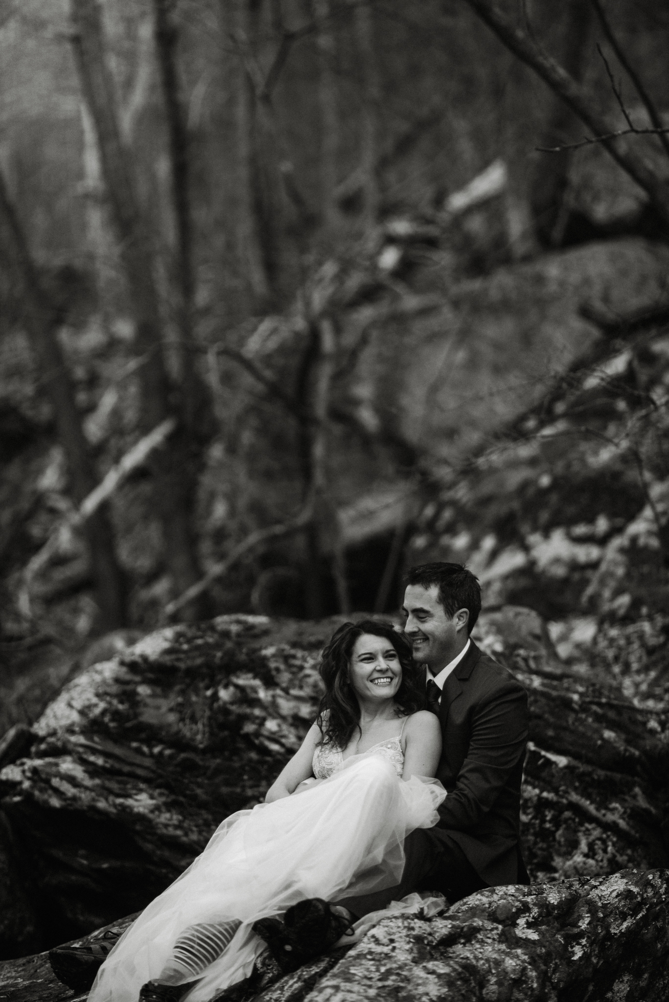 Stephanie and Steve - Shenandoah National Park Elopement - Sunrise Hiking Elopement - Adventurous Elopement - Virginia Elopement Photographer - Shenandoah national Park Wedding Photographer - White Sails Creative_34.jpg