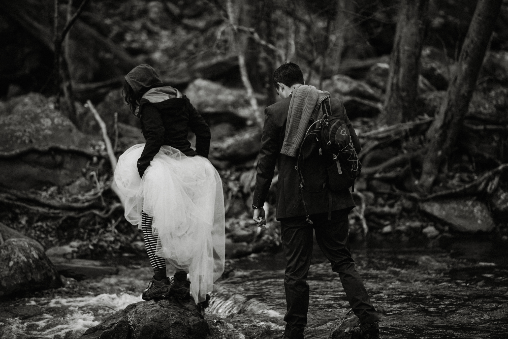 Stephanie and Steve - Shenandoah National Park Elopement - Sunrise Hiking Elopement - Adventurous Elopement - Virginia Elopement Photographer - Shenandoah national Park Wedding Photographer - White Sails Creative_45.jpg