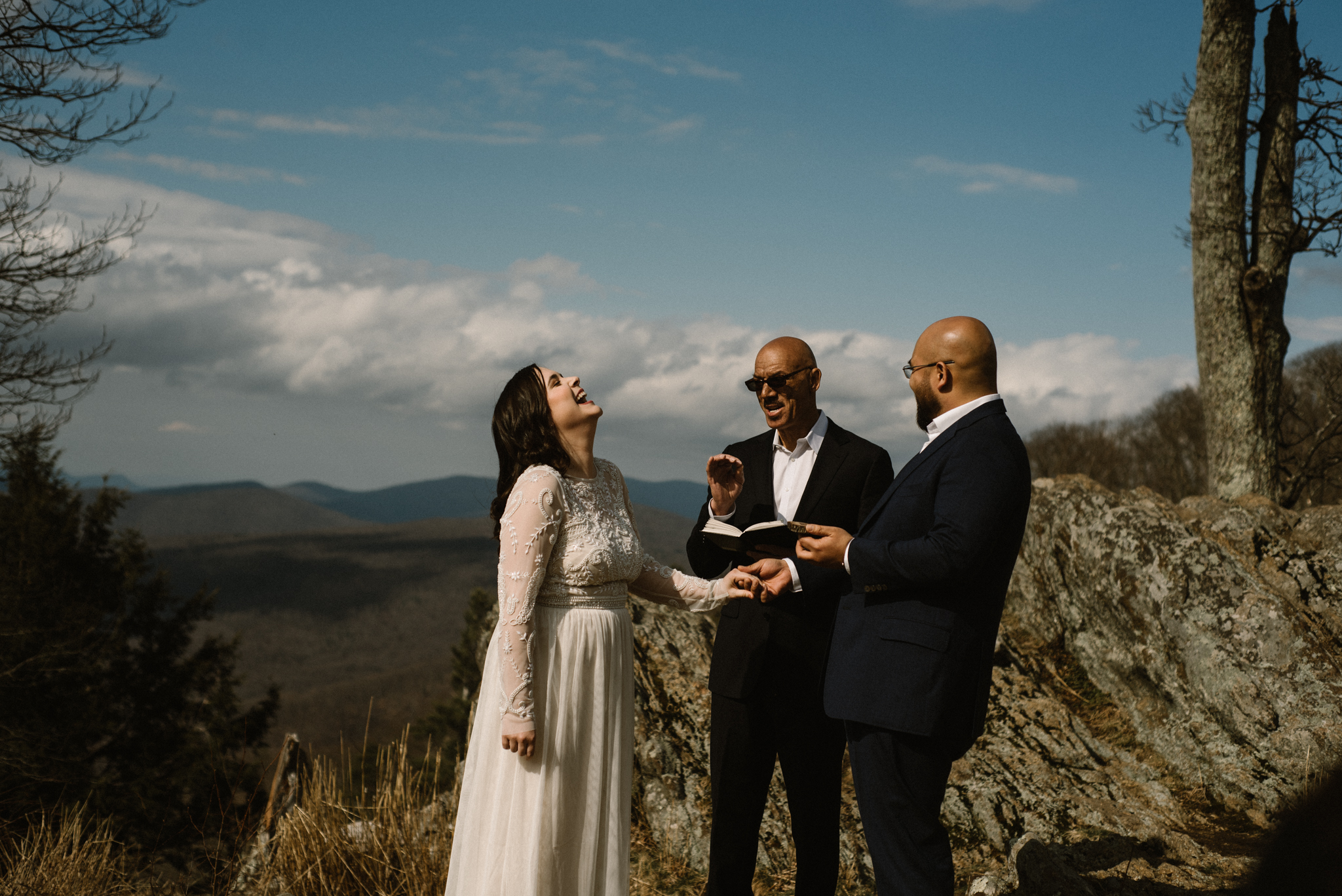 Shenandoah National Park Adventure Photographer for Engagements Elopements and Small Weddings