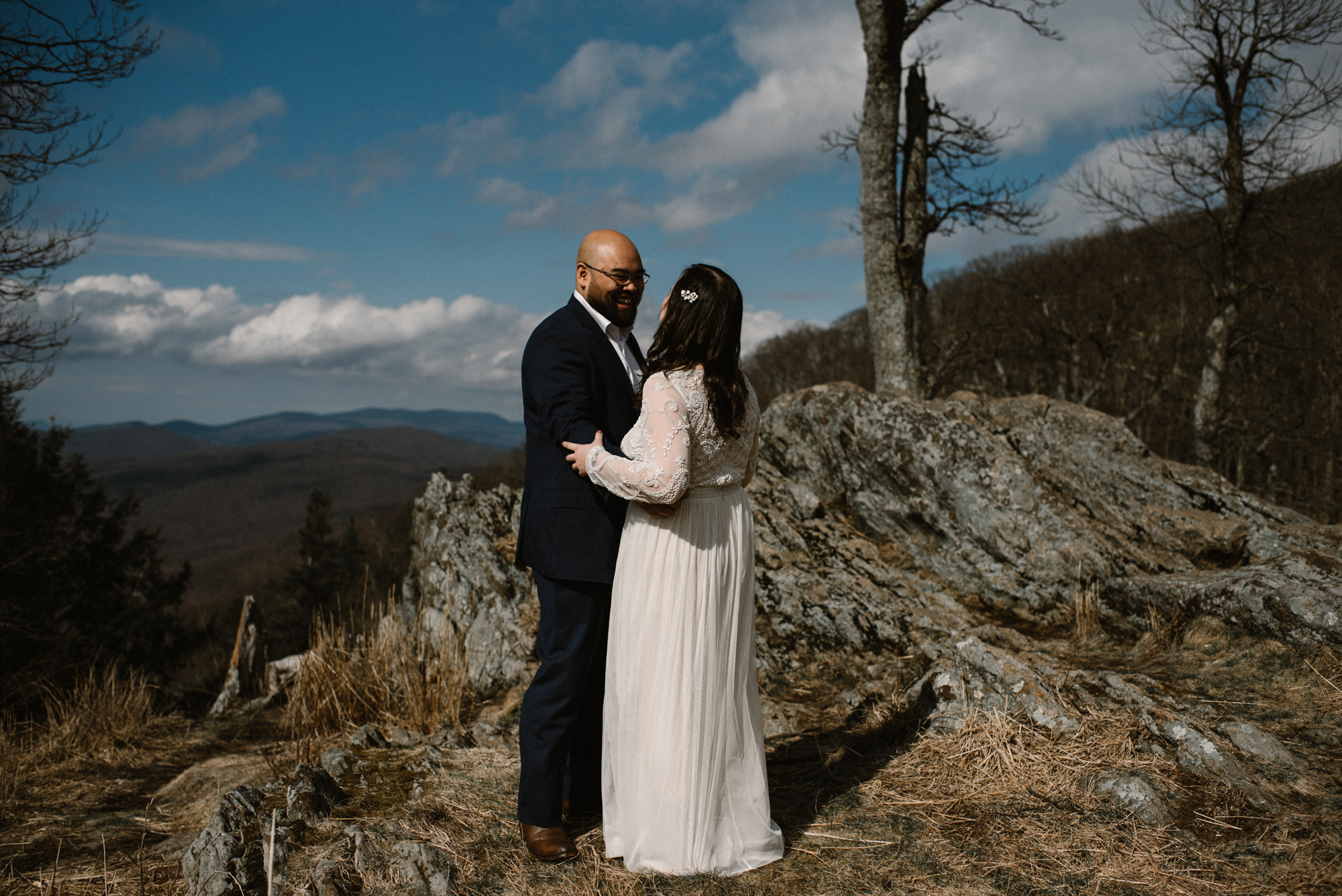 Emma and Jeddah - Intimate Luray Wedding - Shenandoah National Park Wedding - Adventure Elopement in Virginia - Shenandoah National Park Elopement_27.jpg