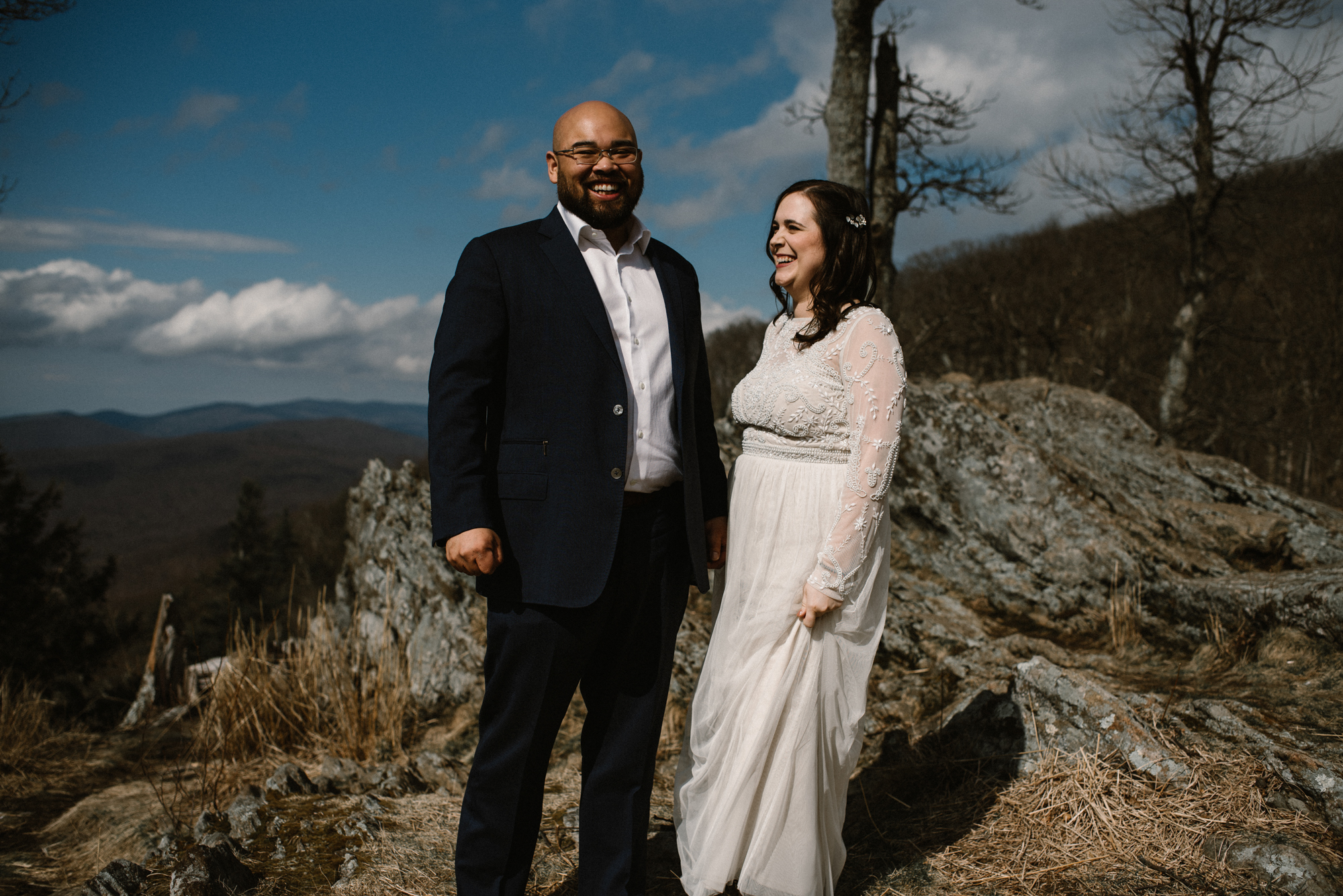 Emma and Jeddah - Intimate Luray Wedding - Shenandoah National Park Wedding - Adventure Elopement in Virginia - Shenandoah National Park Elopement_29.jpg