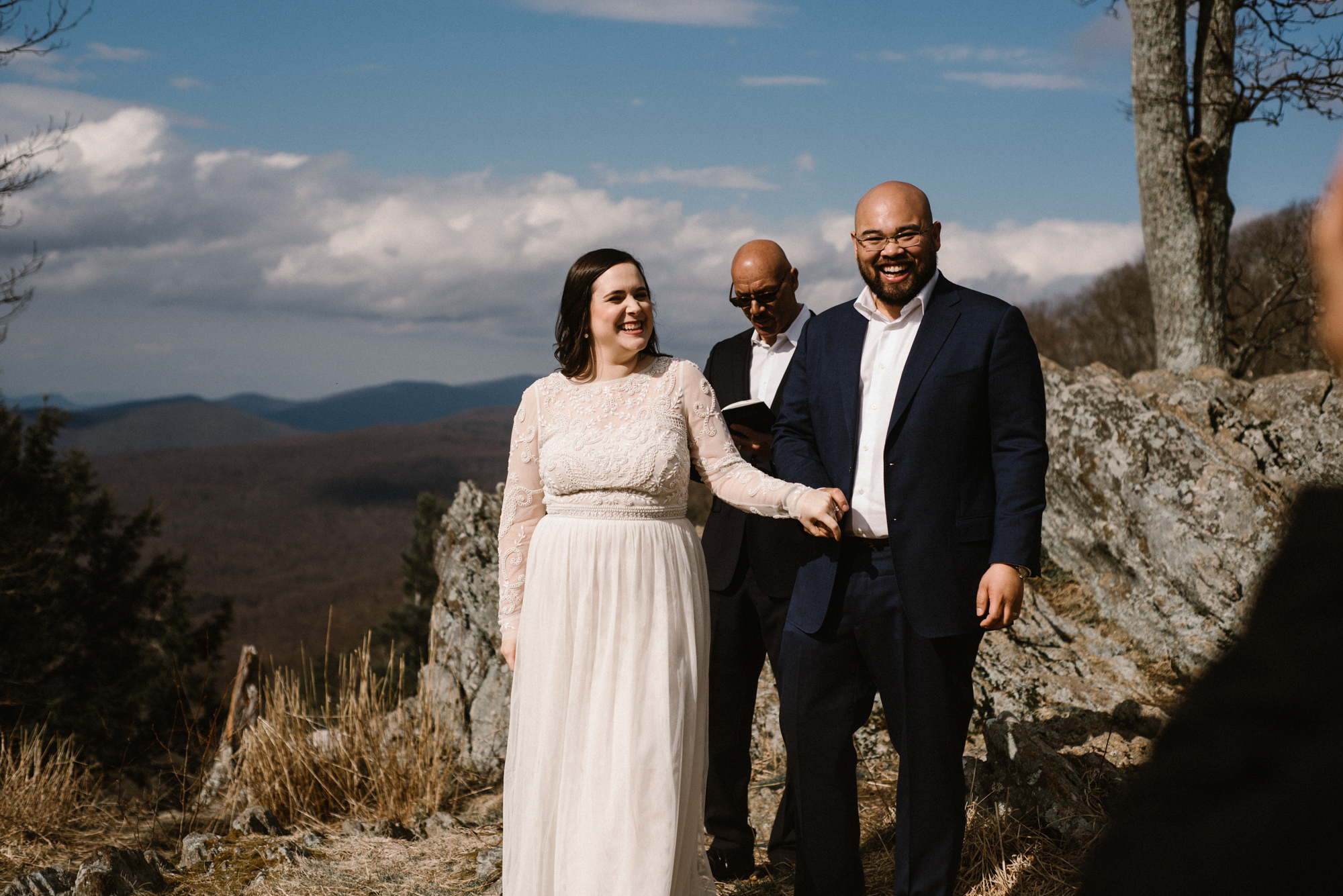 Emma and Jeddah - Intimate Luray Wedding - Shenandoah National Park Wedding - Adventure Elopement in Virginia - Shenandoah National Park Elopement_37.jpg