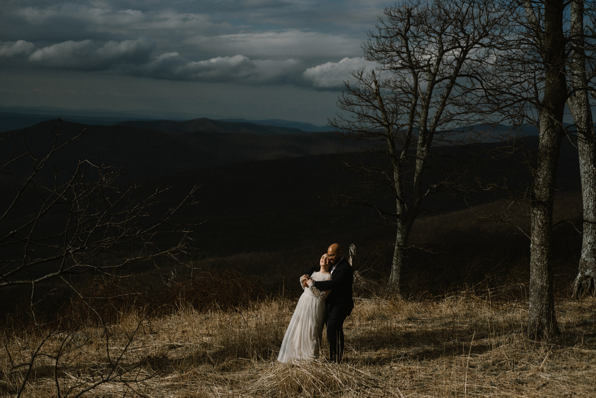 Emma and Jeddah - Intimate Luray Wedding - Shenandoah National Park Wedding - Adventure Elopement in Virginia - Shenandoah National Park Elopement_42.jpg