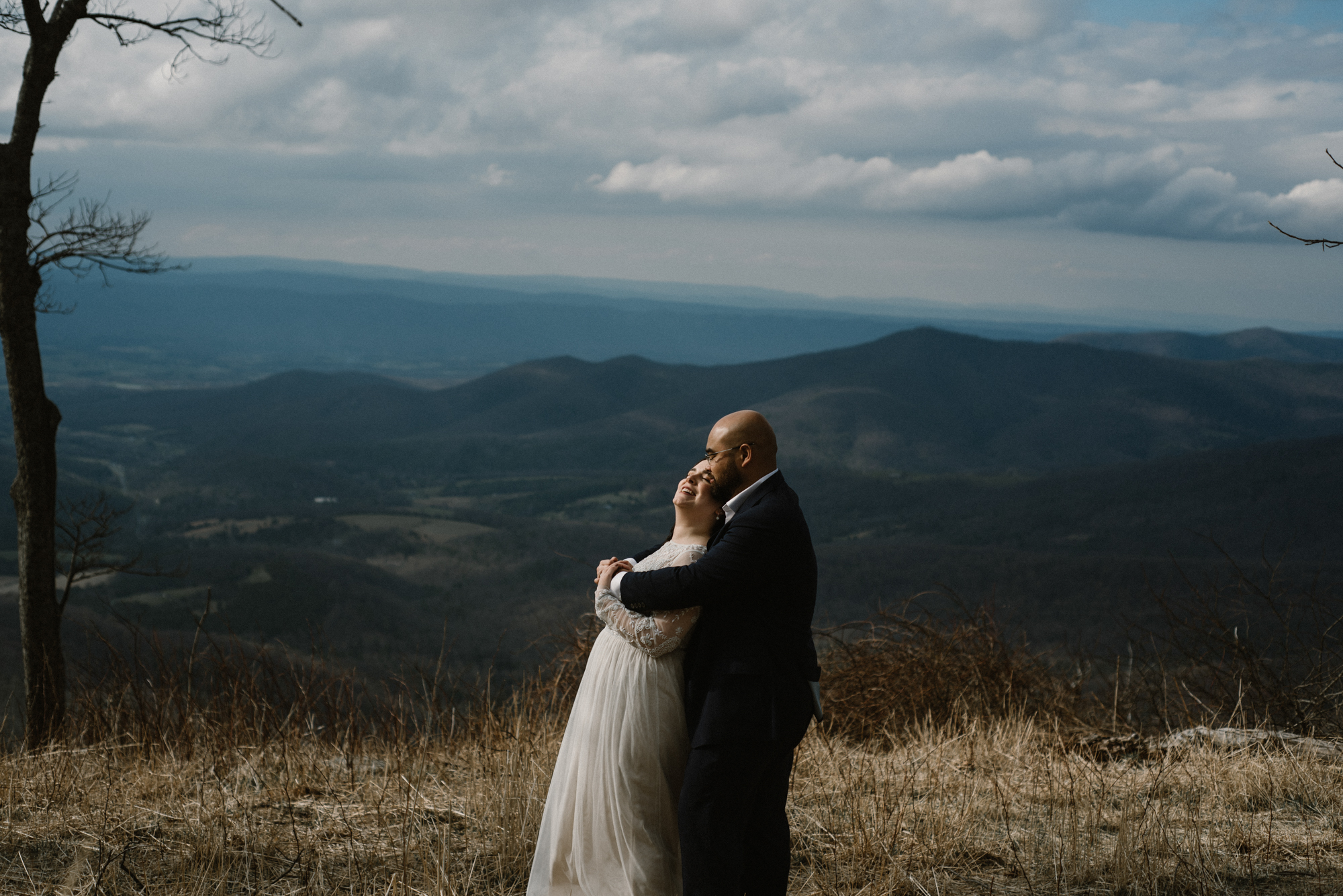 Emma and Jeddah - Intimate Luray Wedding - Shenandoah National Park Wedding - Adventure Elopement in Virginia - Shenandoah National Park Elopement_43.jpg