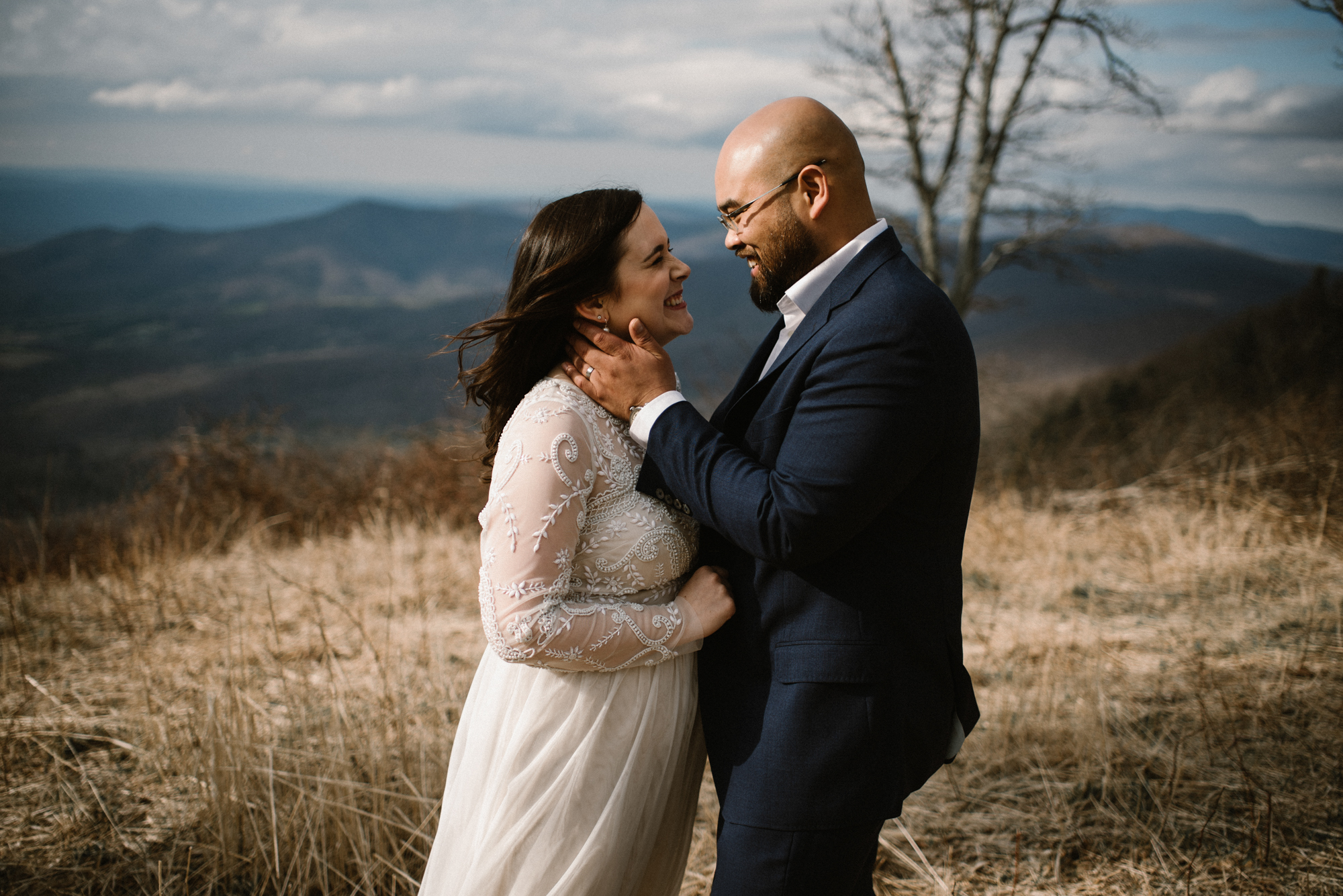 Emma and Jeddah - Intimate Luray Wedding - Shenandoah National Park Wedding - Adventure Elopement in Virginia - Shenandoah National Park Elopement_45.jpg