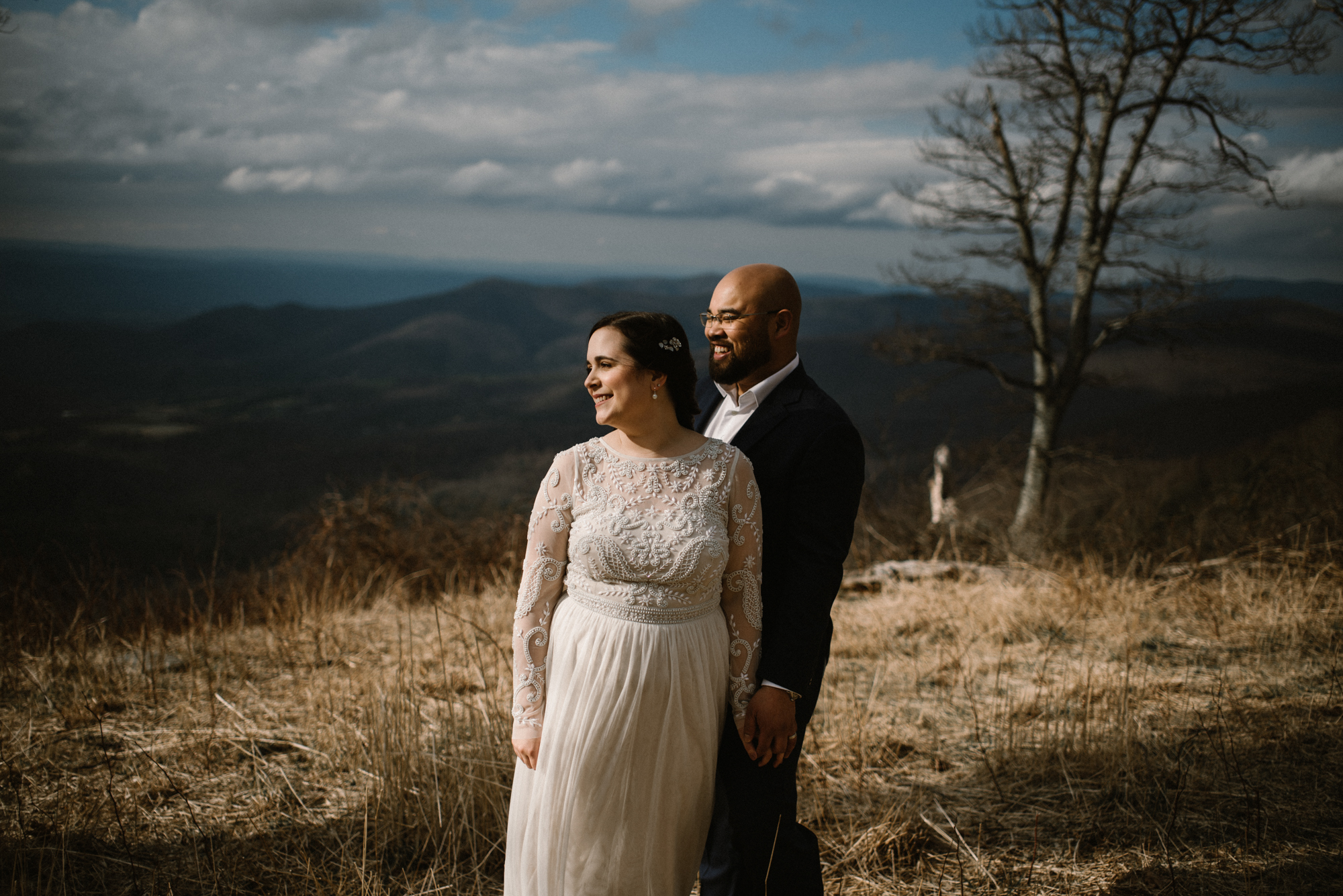 Emma and Jeddah - Intimate Luray Wedding - Shenandoah National Park Wedding - Adventure Elopement in Virginia - Shenandoah National Park Elopement_47.jpg
