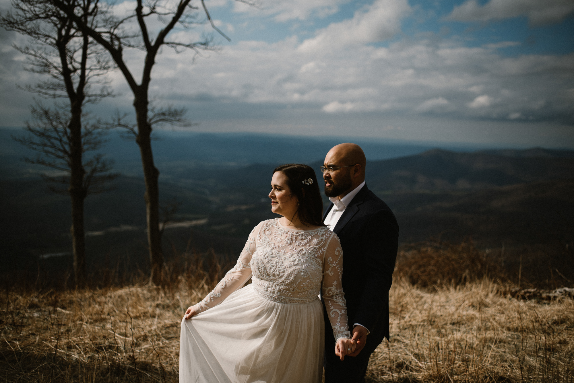 Emma and Jeddah - Intimate Luray Wedding - Shenandoah National Park Wedding - Adventure Elopement in Virginia - Shenandoah National Park Elopement_48.jpg
