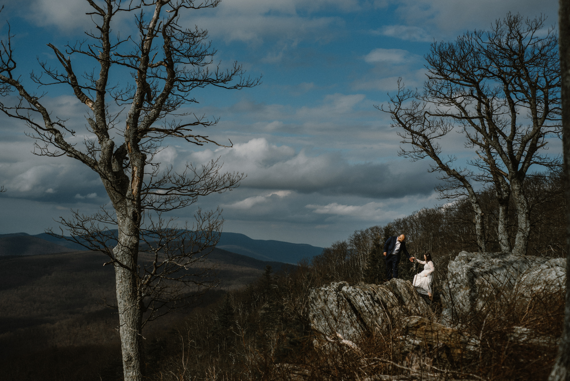 Emma and Jeddah - Intimate Luray Wedding - Shenandoah National Park Wedding - Adventure Elopement in Virginia - Shenandoah National Park Elopement_49.jpg