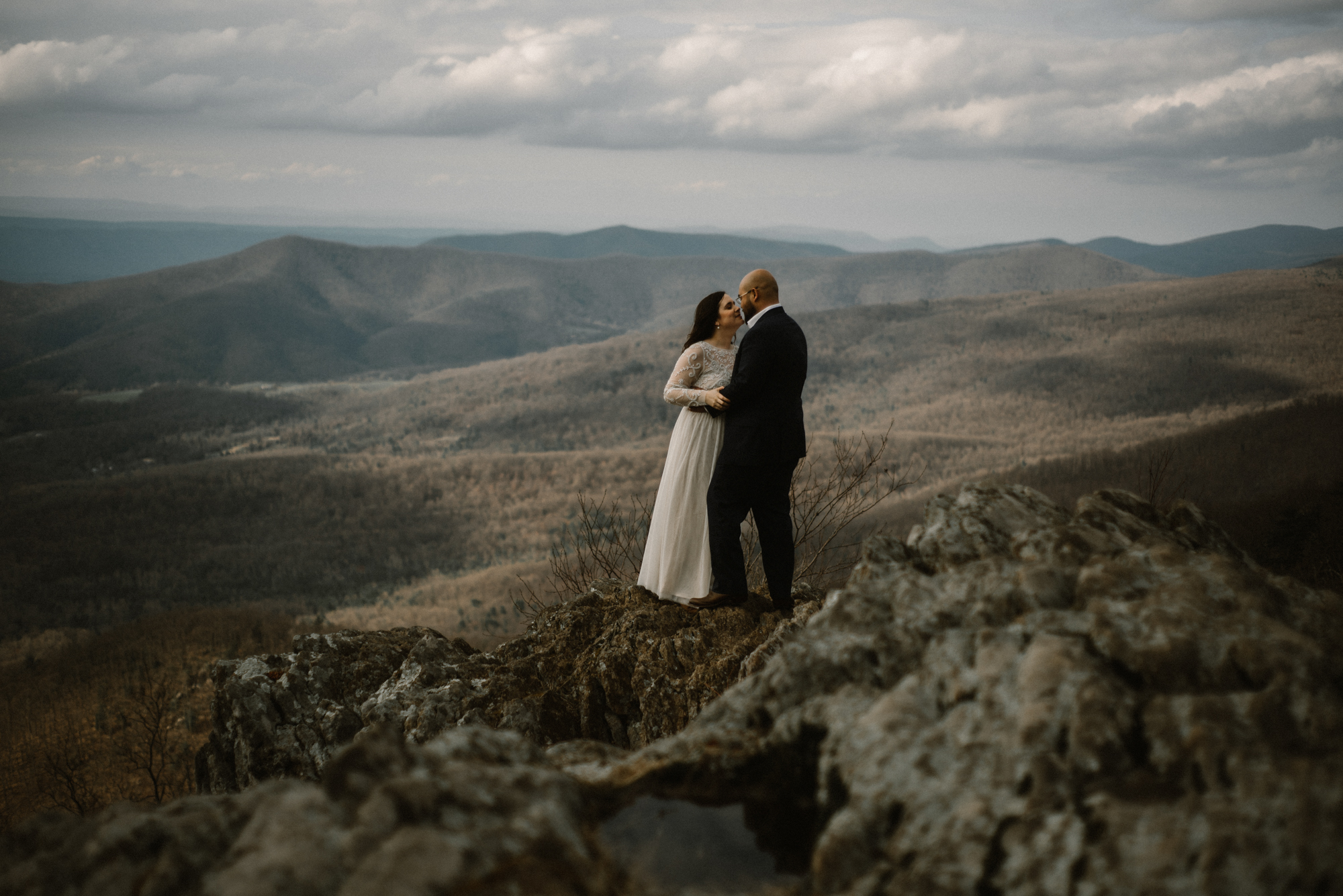 Emma and Jeddah - Intimate Luray Wedding - Shenandoah National Park Wedding - Adventure Elopement in Virginia - Shenandoah National Park Elopement_52.jpg