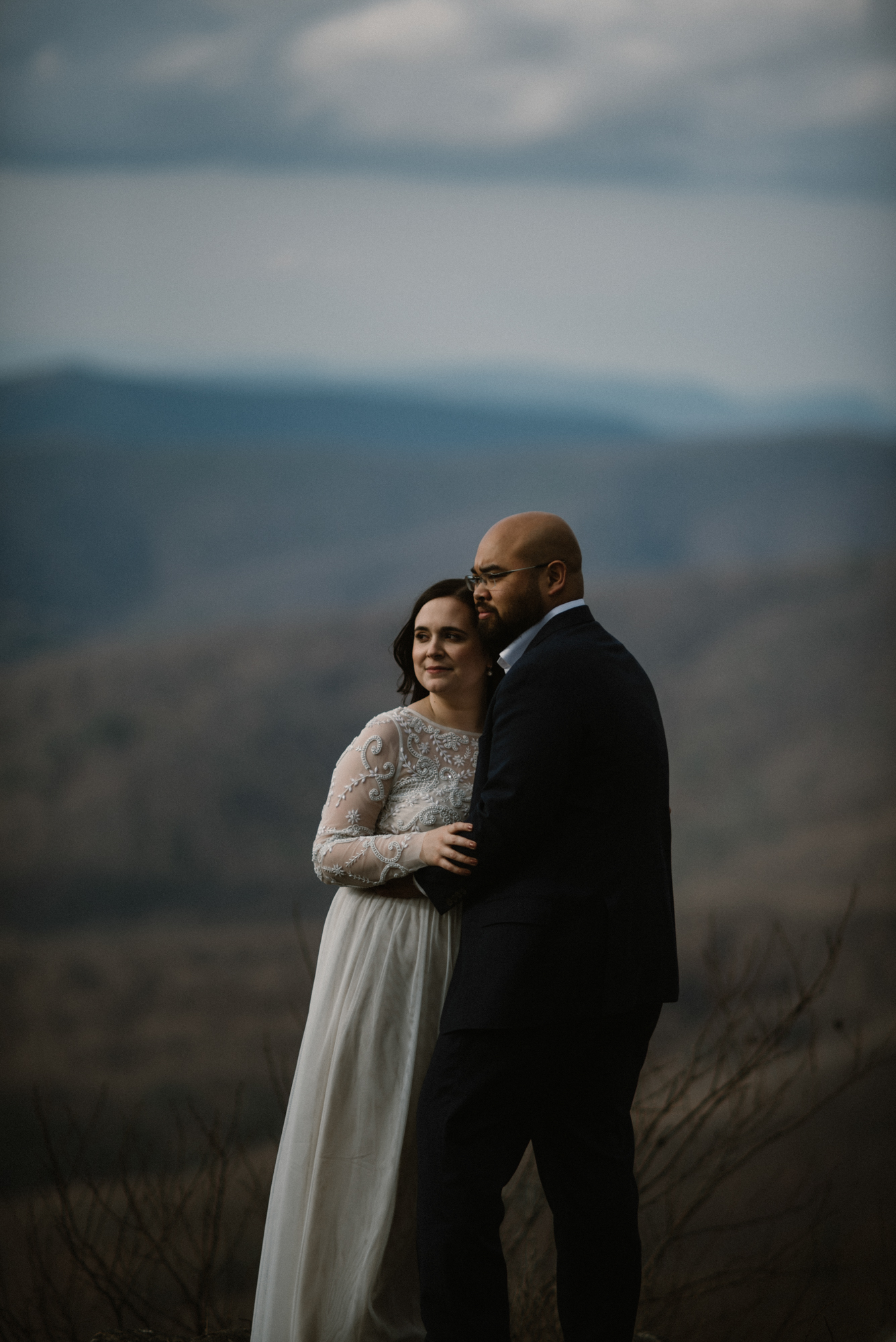 Emma and Jeddah - Intimate Luray Wedding - Shenandoah National Park Wedding - Adventure Elopement in Virginia - Shenandoah National Park Elopement_53.jpg