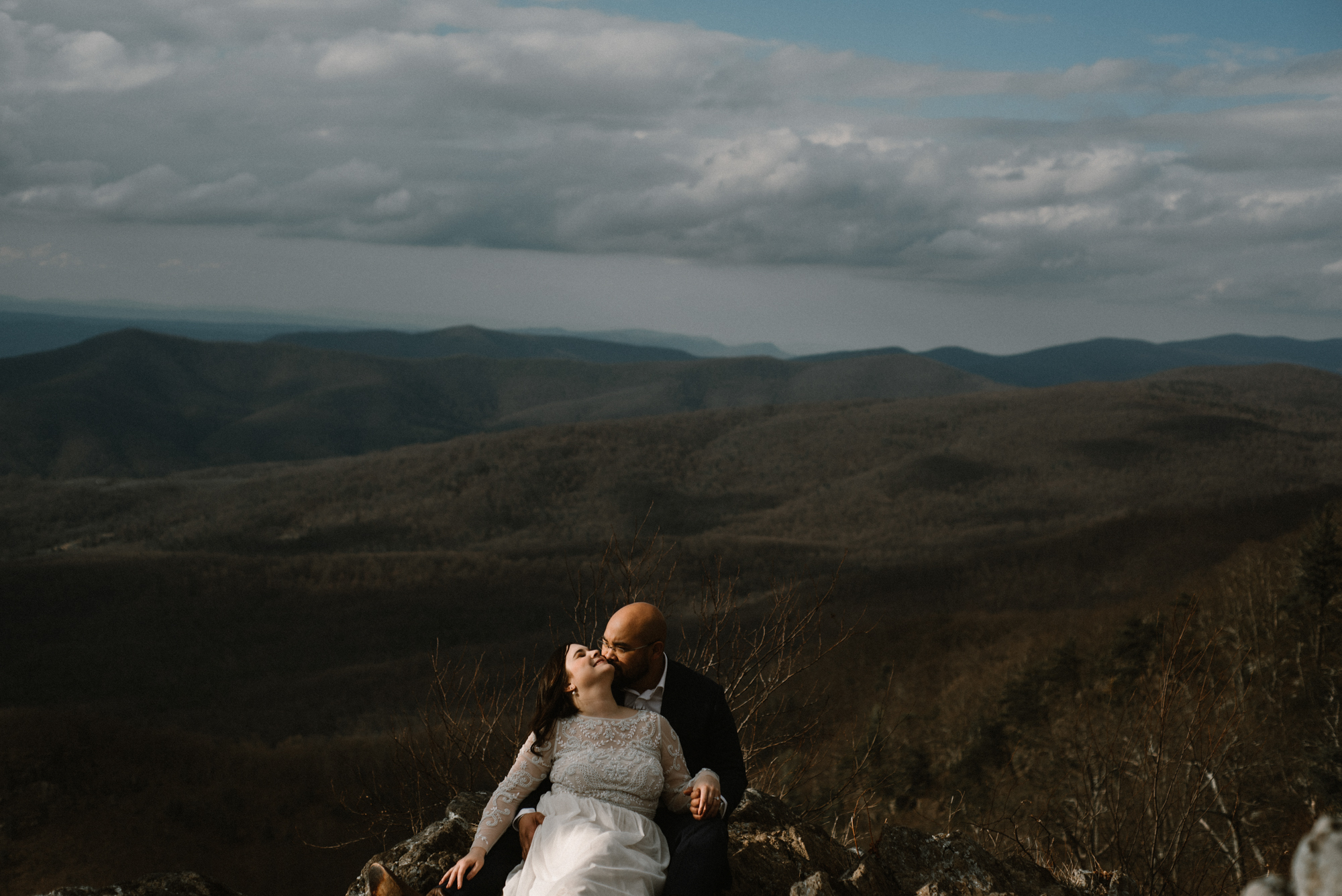 Emma and Jeddah - Intimate Luray Wedding - Shenandoah National Park Wedding - Adventure Elopement in Virginia - Shenandoah National Park Elopement_57.jpg