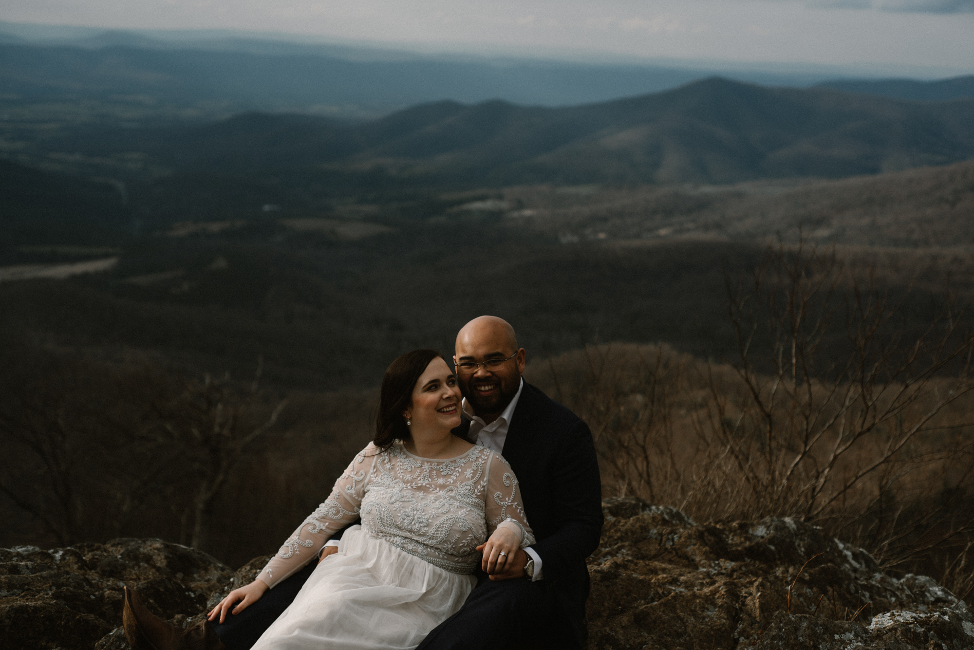 Emma and Jeddah - Intimate Luray Wedding - Shenandoah National Park Wedding - Adventure Elopement in Virginia - Shenandoah National Park Elopement_58.jpg