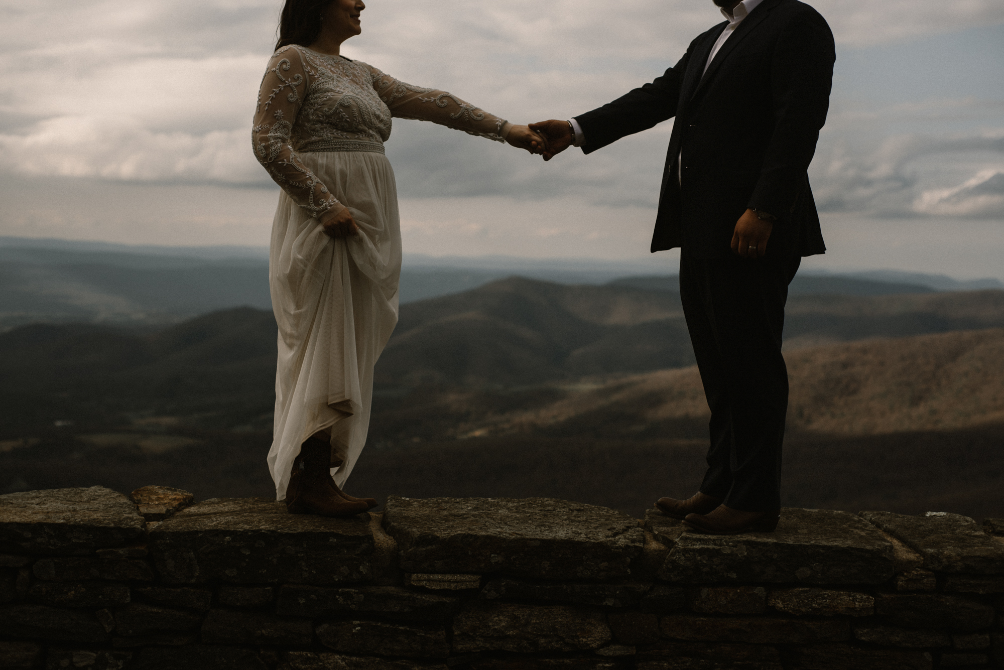 Emma and Jeddah - Intimate Luray Wedding - Shenandoah National Park Wedding - Adventure Elopement in Virginia - Shenandoah National Park Elopement_62.jpg