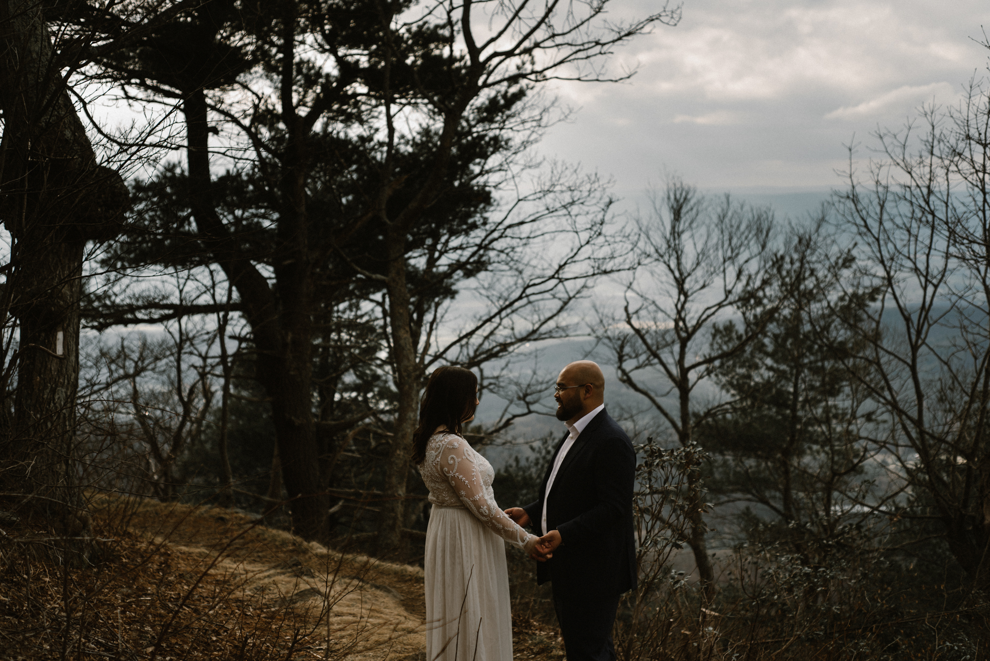 Emma and Jeddah - Intimate Luray Wedding - Shenandoah National Park Wedding - Adventure Elopement in Virginia - Shenandoah National Park Elopement_64.jpg