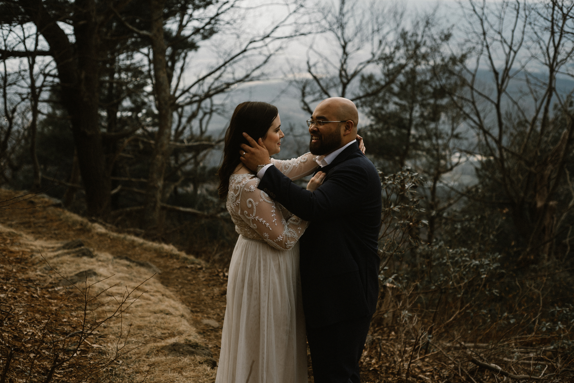 Emma and Jeddah - Intimate Luray Wedding - Shenandoah National Park Wedding - Adventure Elopement in Virginia - Shenandoah National Park Elopement_67.jpg