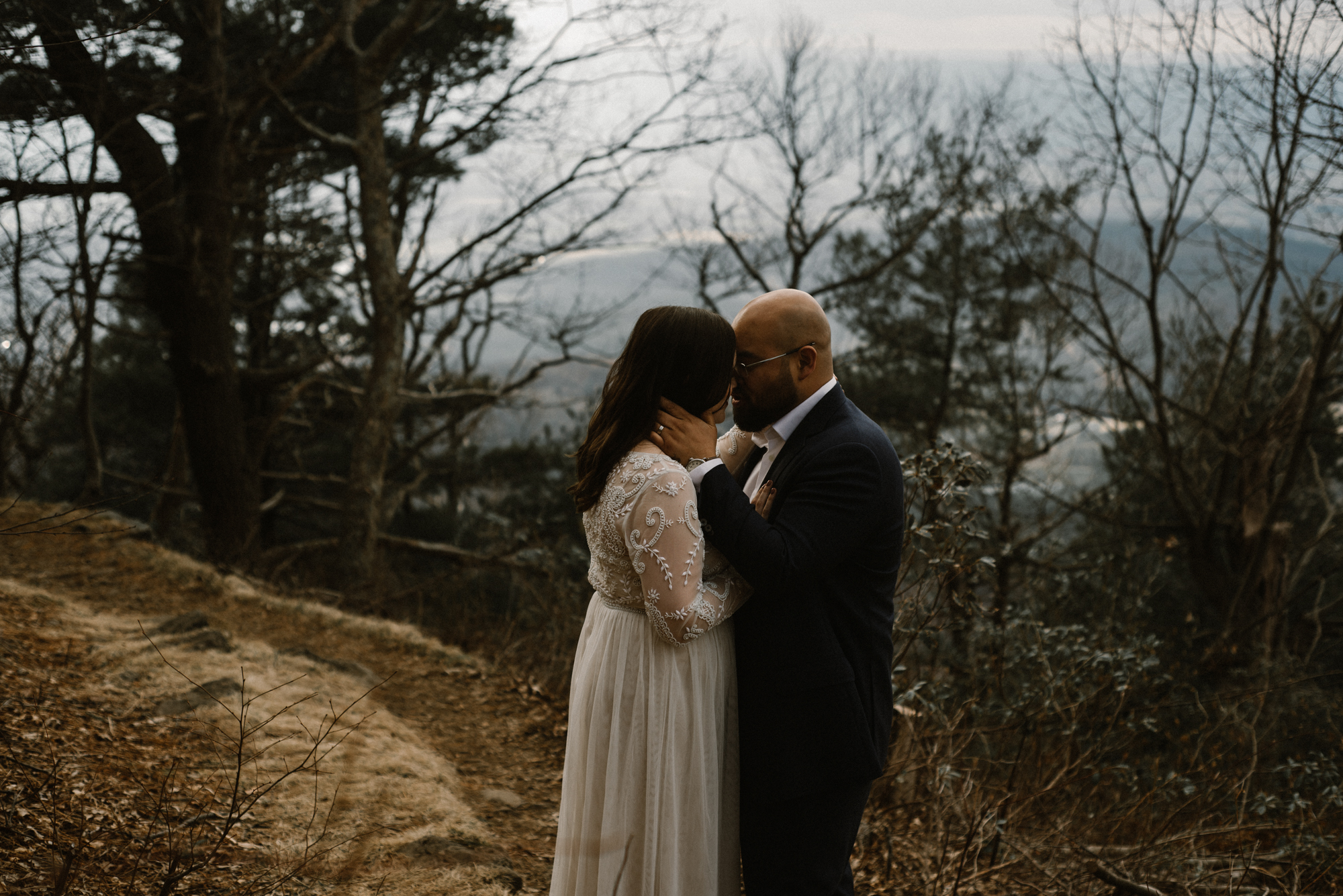 Emma and Jeddah - Intimate Luray Wedding - Shenandoah National Park Wedding - Adventure Elopement in Virginia - Shenandoah National Park Elopement_70.jpg