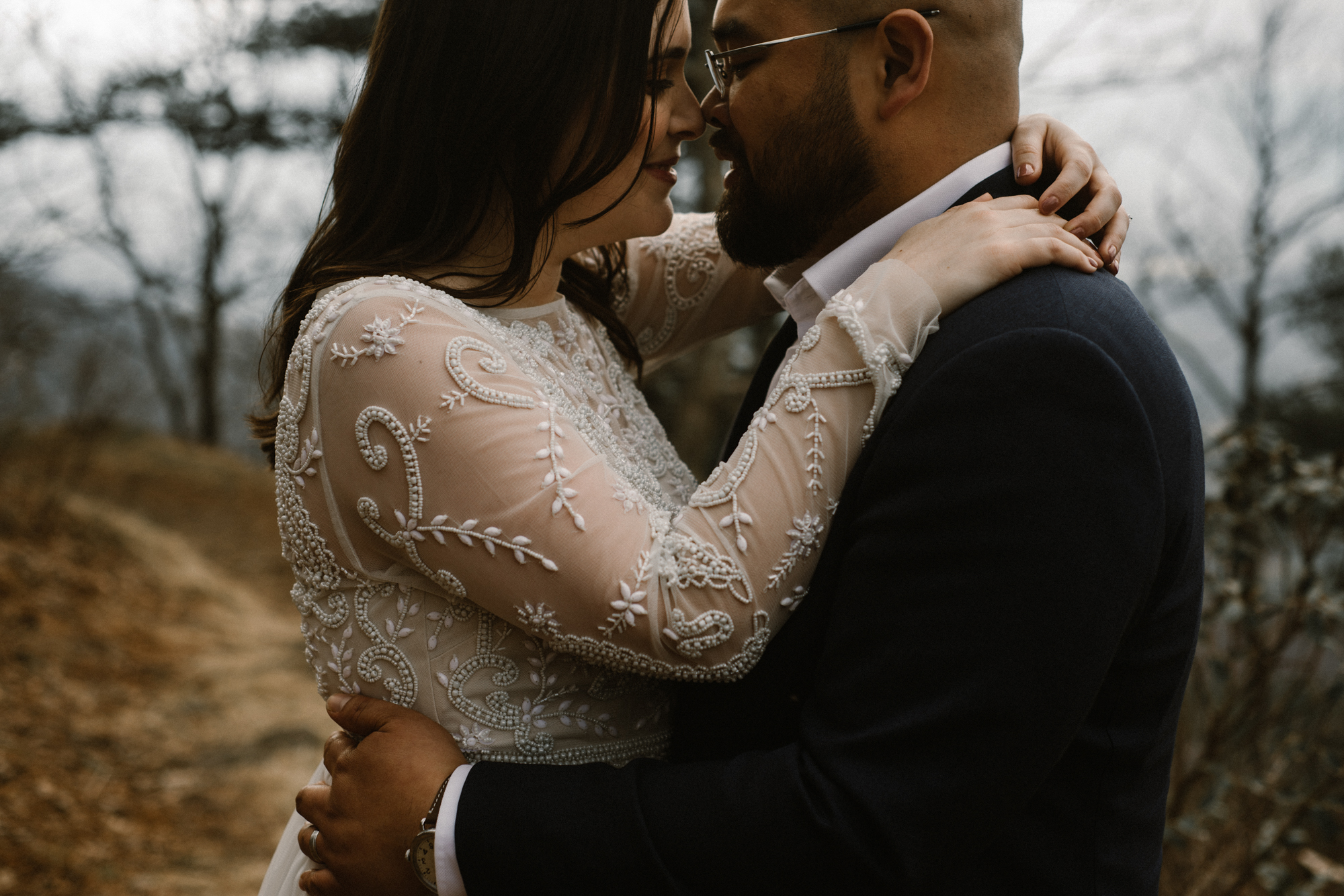 Emma and Jeddah - Intimate Luray Wedding - Shenandoah National Park Wedding - Adventure Elopement in Virginia - Shenandoah National Park Elopement_71.jpg