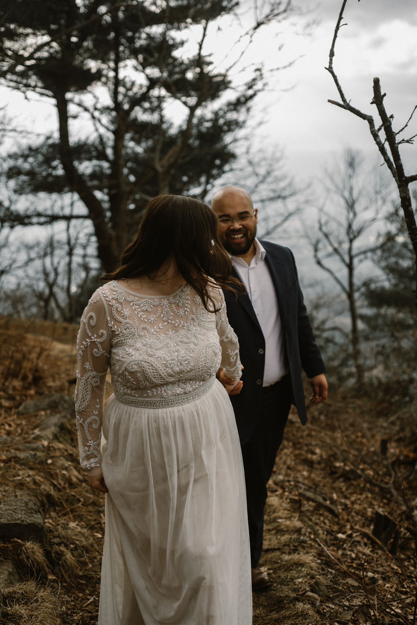 Emma and Jeddah - Intimate Luray Wedding - Shenandoah National Park Wedding - Adventure Elopement in Virginia - Shenandoah National Park Elopement_73.jpg