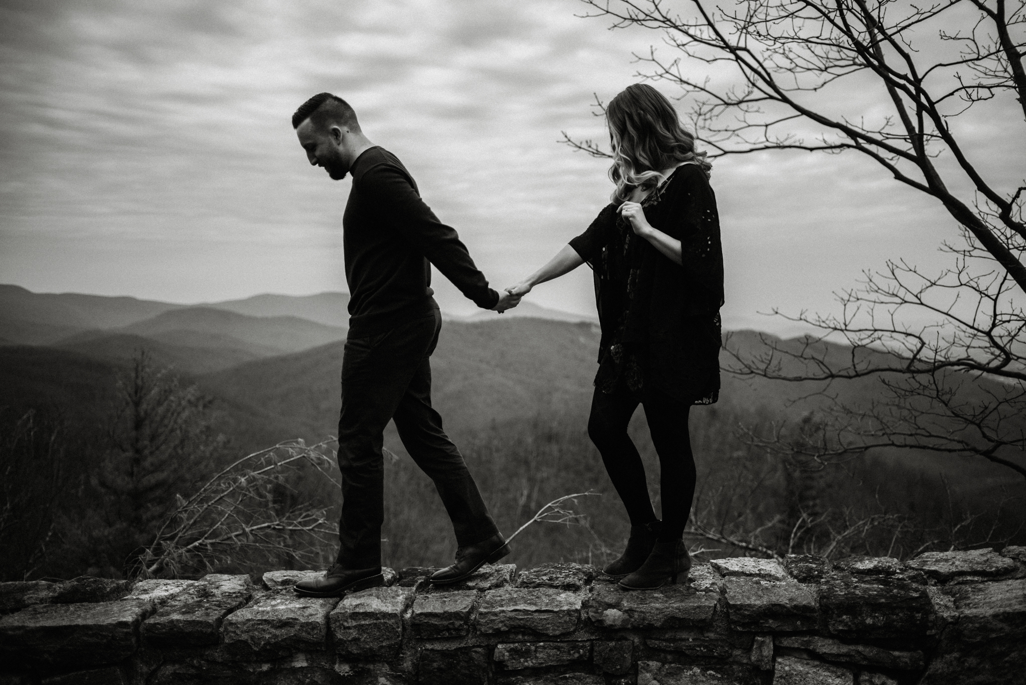Nicole and Victor - Shenandoah National Park Engagement Photography - Blue Ridge Mountains Adventure Photography - White Sails Creative Photography_1.jpg