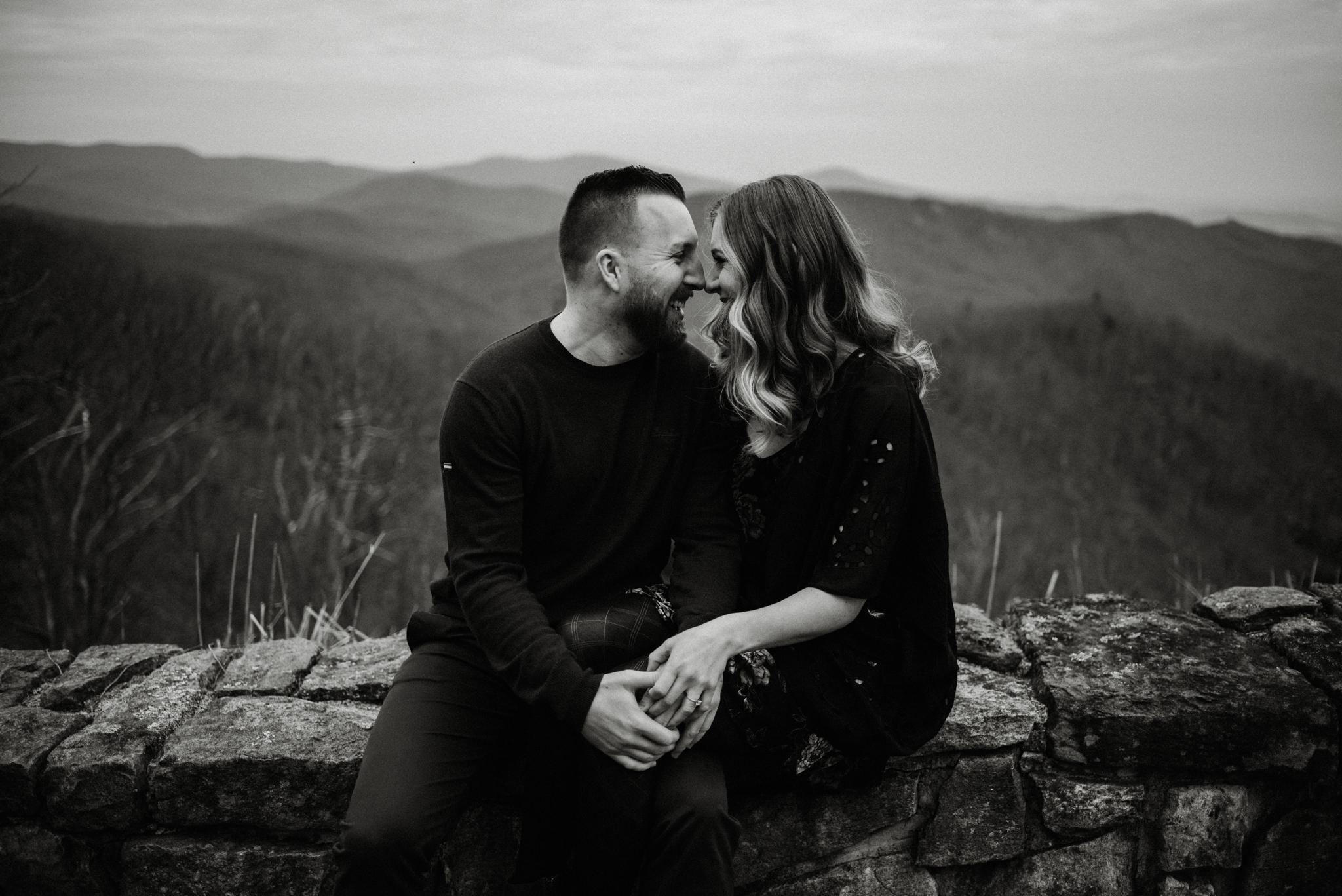 Nicole and Victor - Shenandoah National Park Engagement Photography - Blue Ridge Mountains Adventure Photography - White Sails Creative Photography_4.jpg