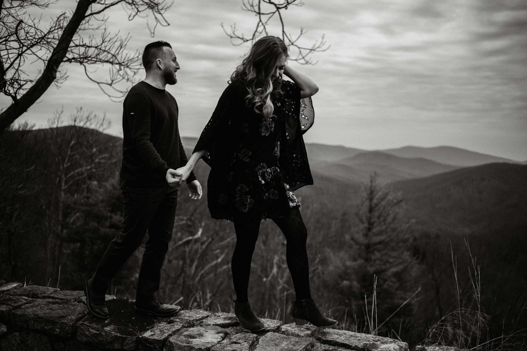 Nicole and Victor - Shenandoah National Park Engagement Photography - Blue Ridge Mountains Adventure Photography - White Sails Creative Photography_3.jpg