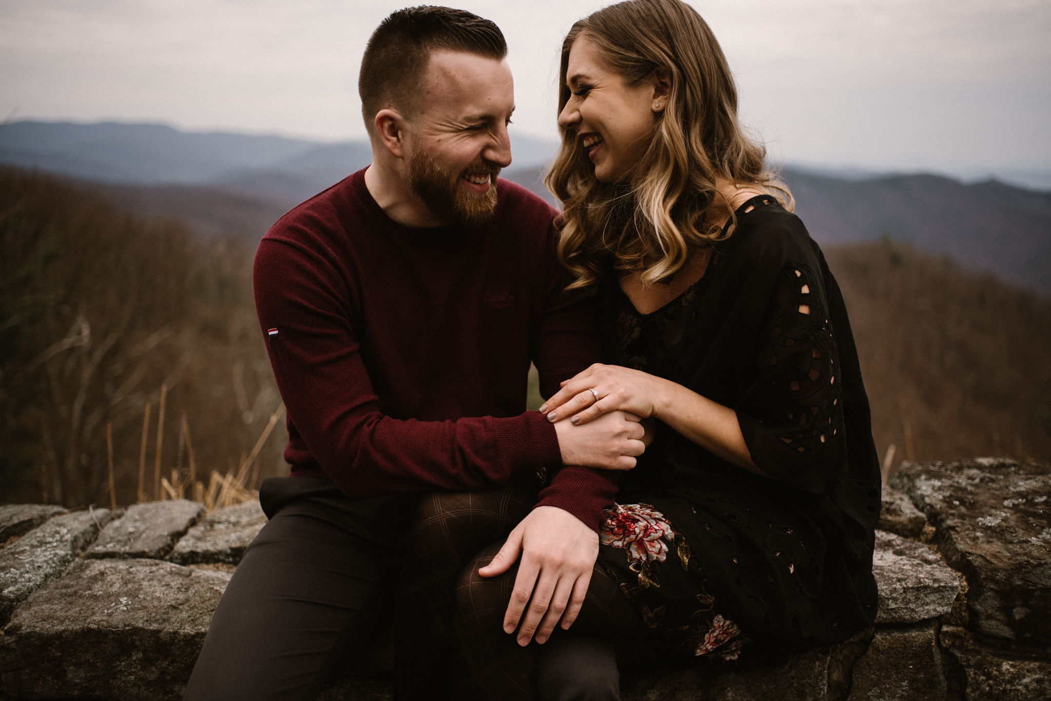 Nicole and Victor - Shenandoah National Park Engagement Photography - Blue Ridge Mountains Adventure Photography - White Sails Creative Photography_5.jpg