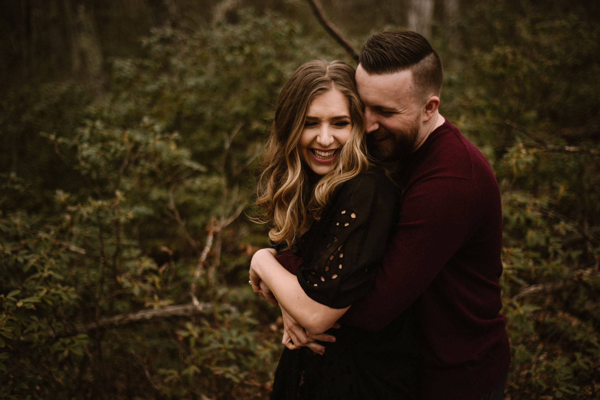 Nicole and Victor - Shenandoah National Park Engagement Photography - Blue Ridge Mountains Adventure Photography - White Sails Creative Photography_7.jpg