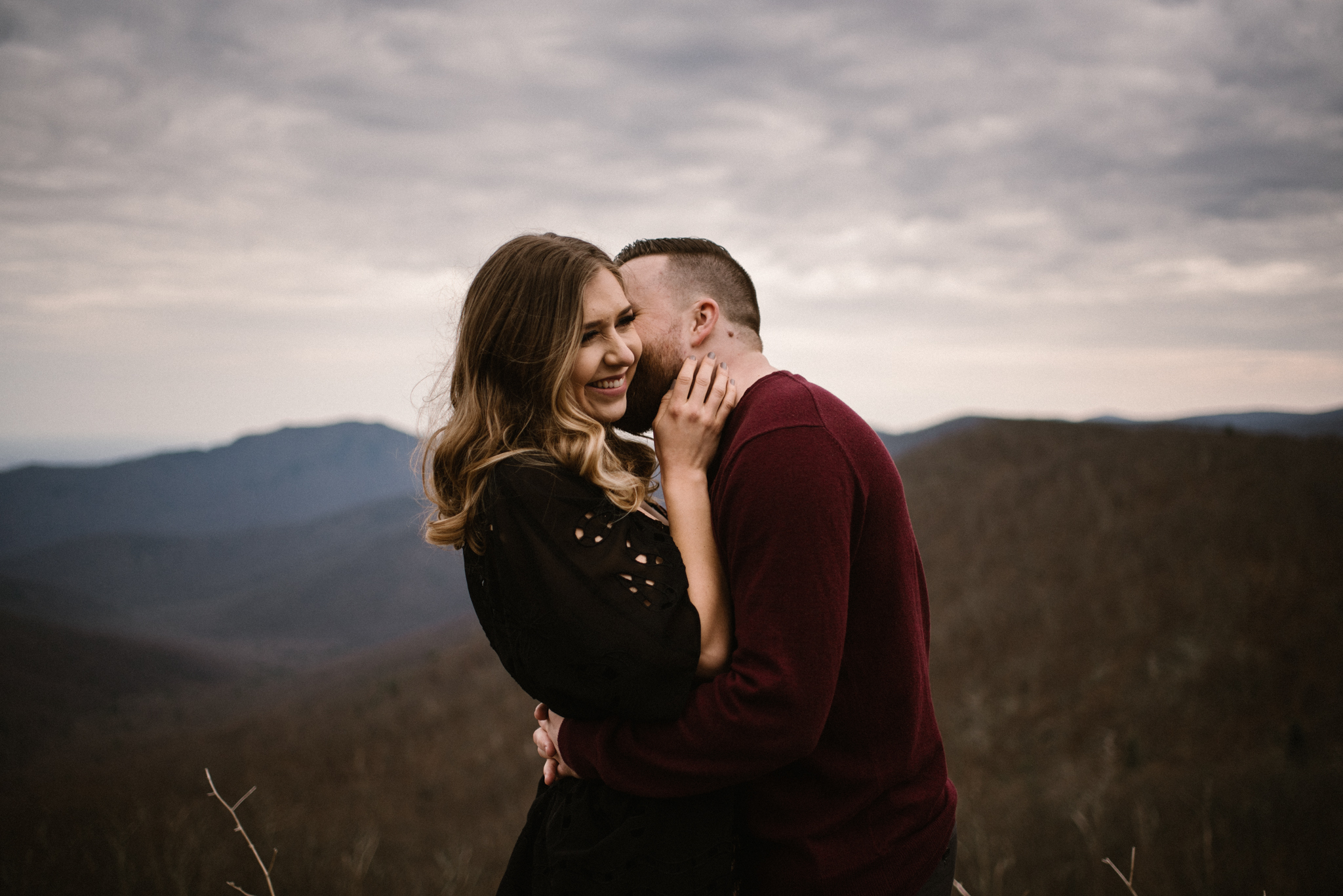 Nicole and Victor - Shenandoah National Park Engagement Photography - Blue Ridge Mountains Adventure Photography - White Sails Creative Photography_12.jpg