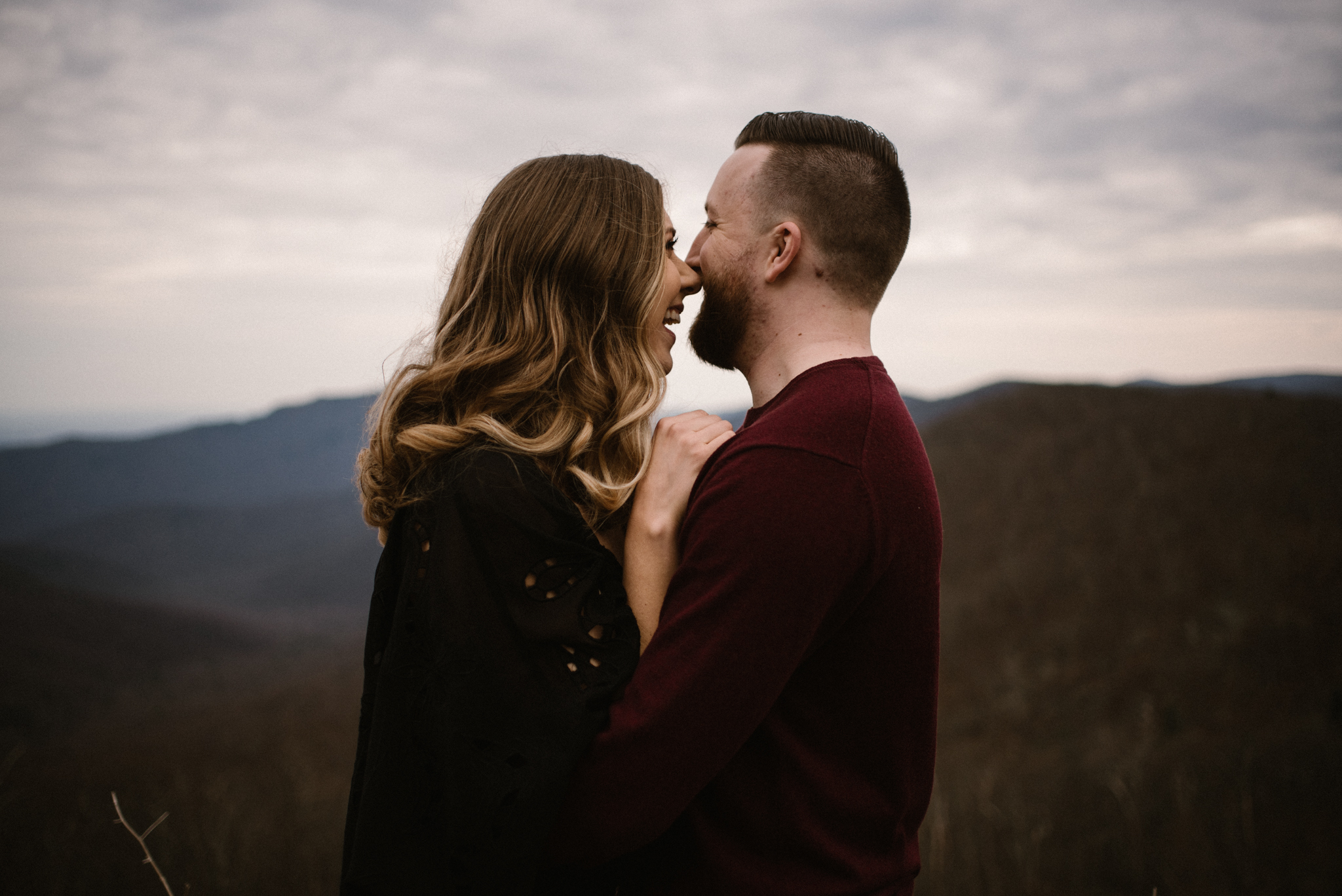 Nicole and Victor - Shenandoah National Park Engagement Photography - Blue Ridge Mountains Adventure Photography - White Sails Creative Photography_11.jpg