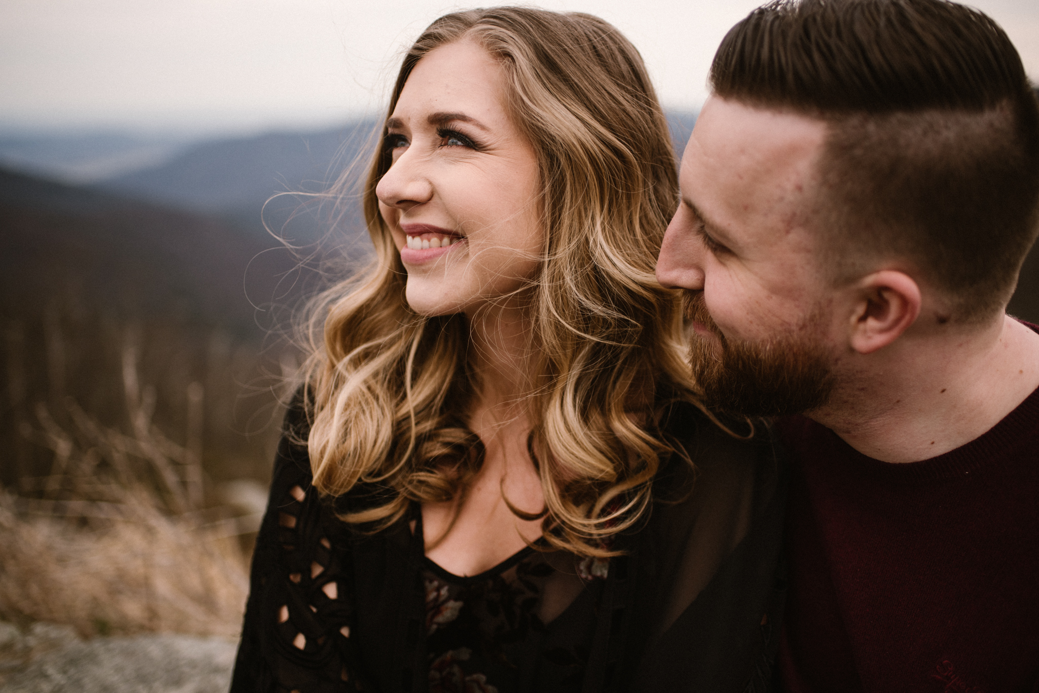 Nicole and Victor - Shenandoah National Park Engagement Photography - Blue Ridge Mountains Adventure Photography - White Sails Creative Photography_13.jpg