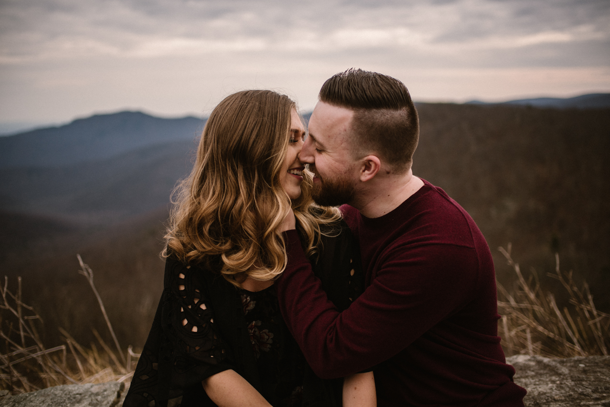 Nicole and Victor - Shenandoah National Park Engagement Photography - Blue Ridge Mountains Adventure Photography - White Sails Creative Photography_15.jpg