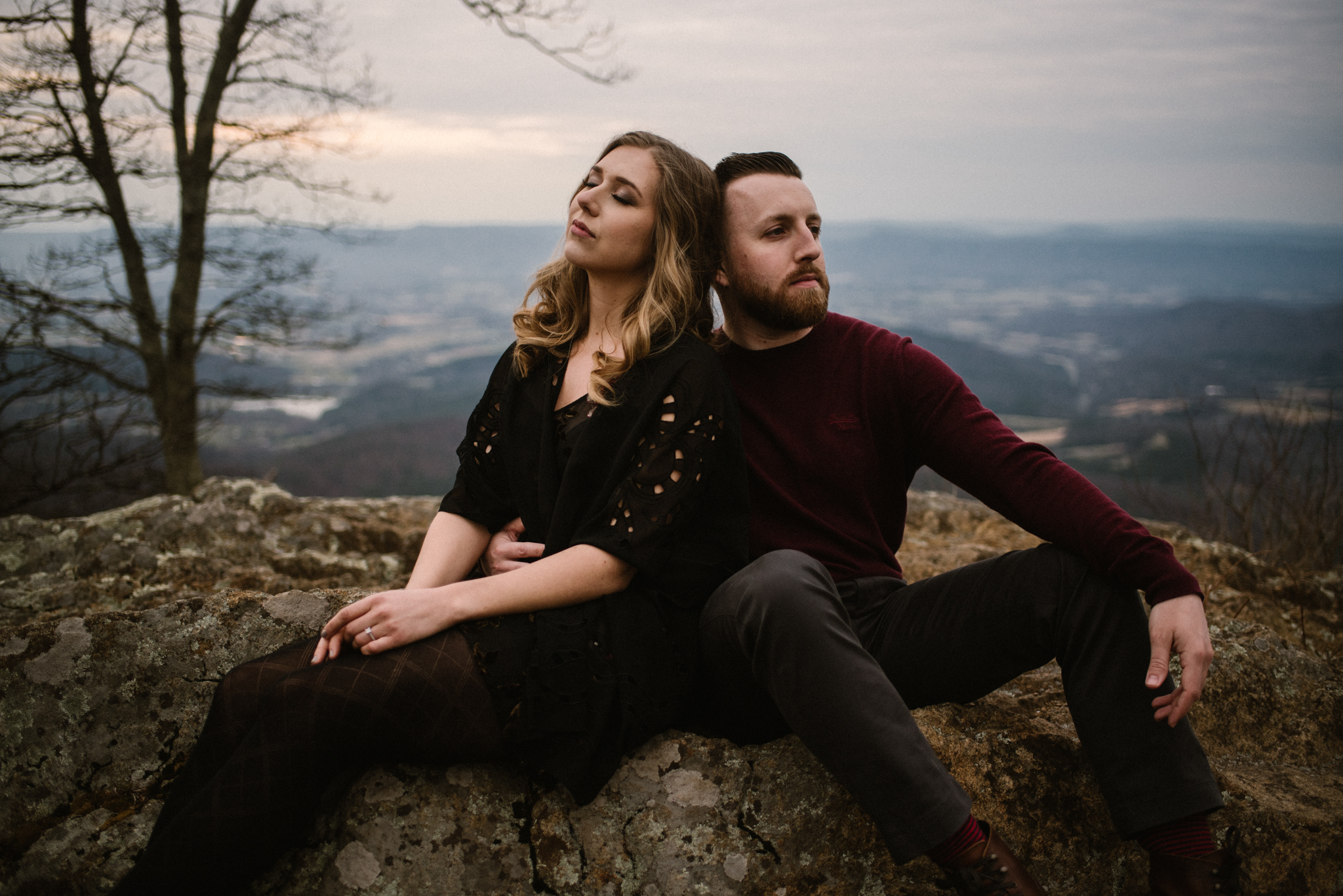Nicole and Victor - Shenandoah National Park Engagement Photography - Blue Ridge Mountains Adventure Photography - White Sails Creative Photography_18.jpg