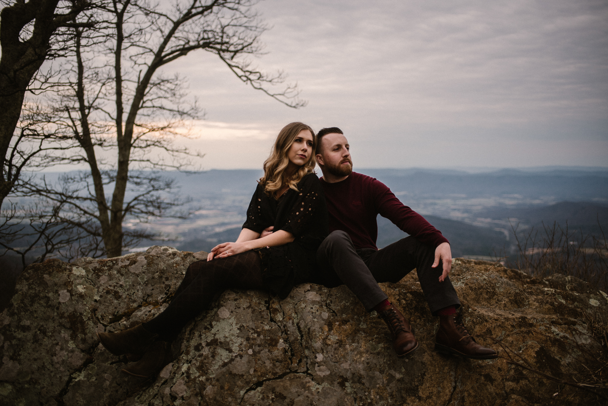 Nicole and Victor - Shenandoah National Park Engagement Photography - Blue Ridge Mountains Adventure Photography - White Sails Creative Photography_17.jpg