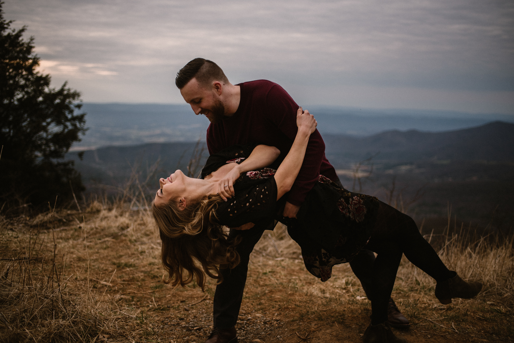 Nicole and Victor - Shenandoah National Park Engagement Photography - Blue Ridge Mountains Adventure Photography - White Sails Creative Photography_19.jpg