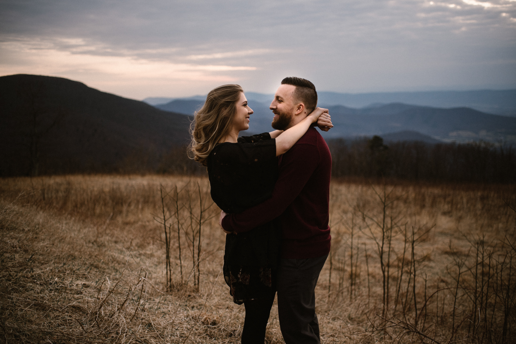 Nicole and Victor - Shenandoah National Park Engagement Photography - Blue Ridge Mountains Adventure Photography - White Sails Creative Photography_21.jpg