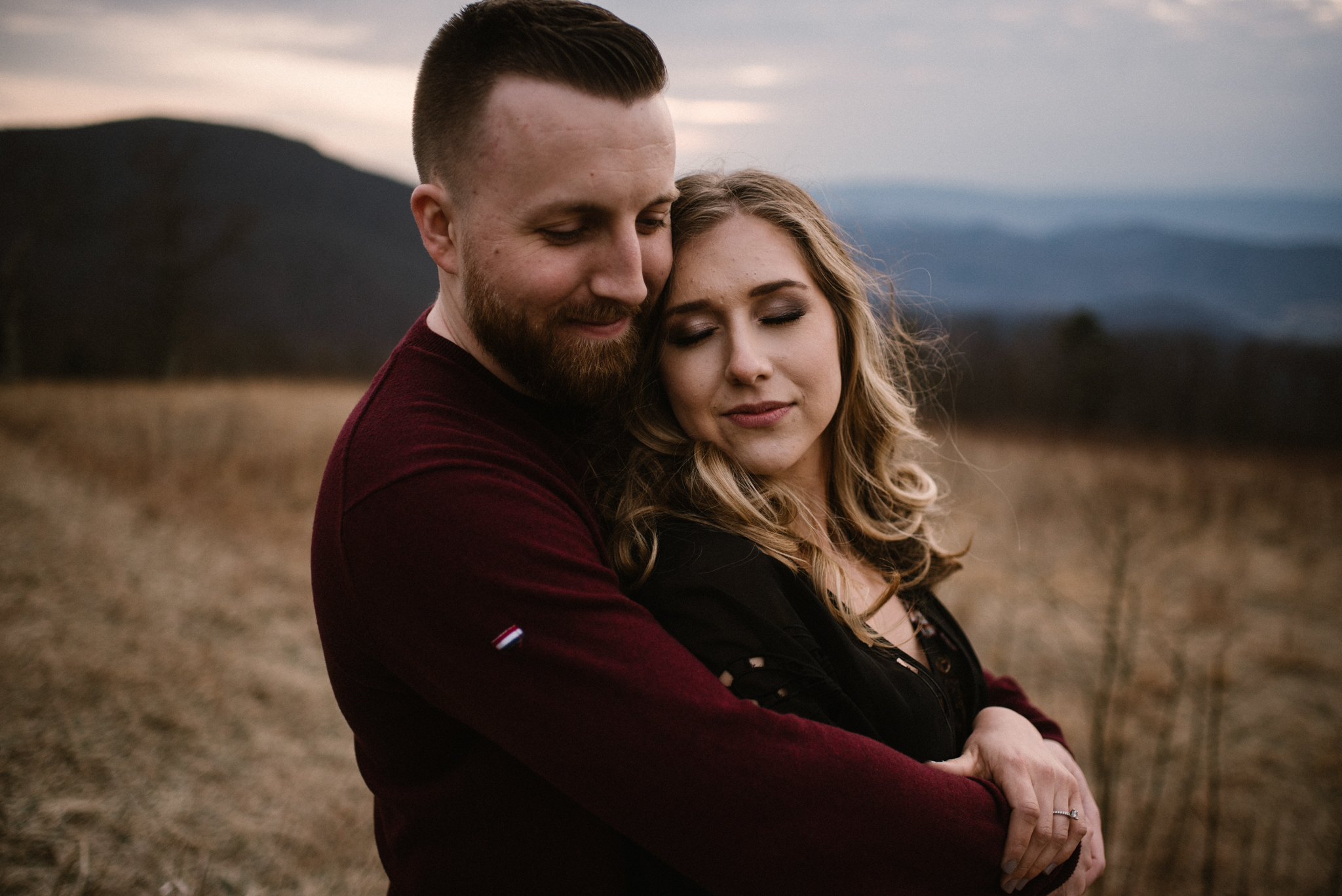 Nicole and Victor - Shenandoah National Park Engagement Photography - Blue Ridge Mountains Adventure Photography - White Sails Creative Photography_23.jpg