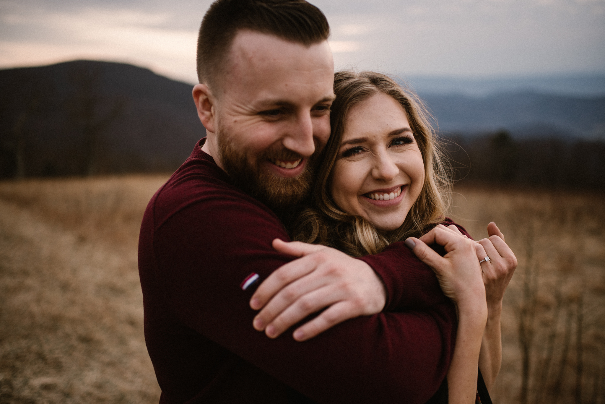 Nicole and Victor - Shenandoah National Park Engagement Photography - Blue Ridge Mountains Adventure Photography - White Sails Creative Photography_27.jpg