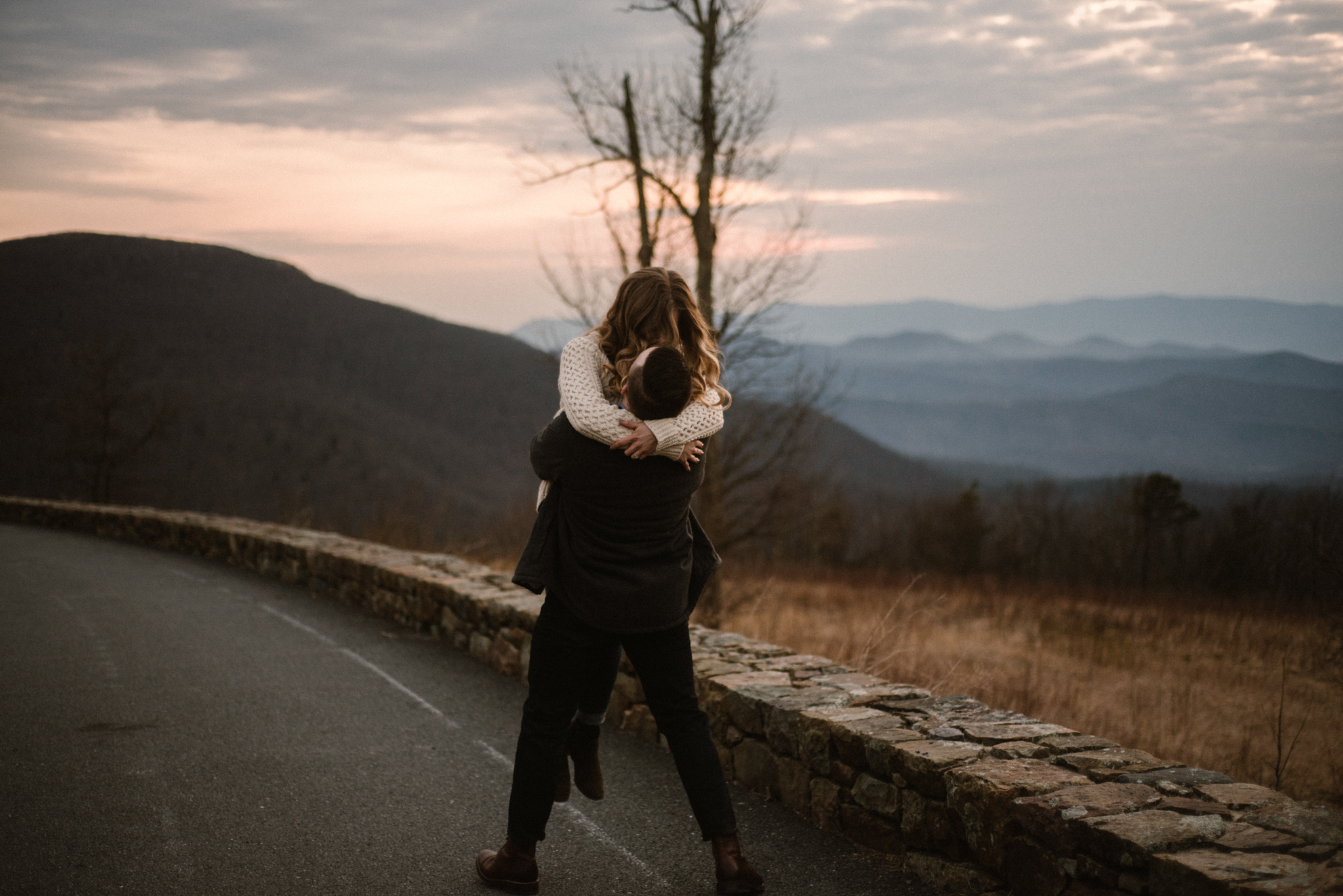 Nicole and Victor - Shenandoah National Park Engagement Photography - Blue Ridge Mountains Adventure Photography - White Sails Creative Photography_32.jpg