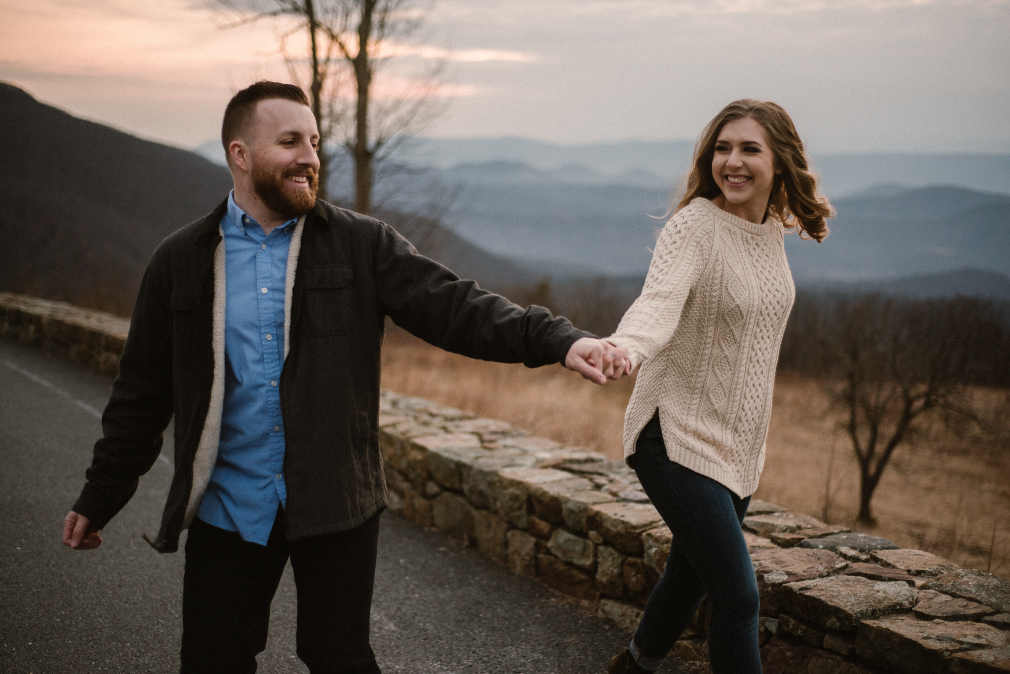 Nicole and Victor - Shenandoah National Park Engagement Photography - Blue Ridge Mountains Adventure Photography - White Sails Creative Photography_33.jpg