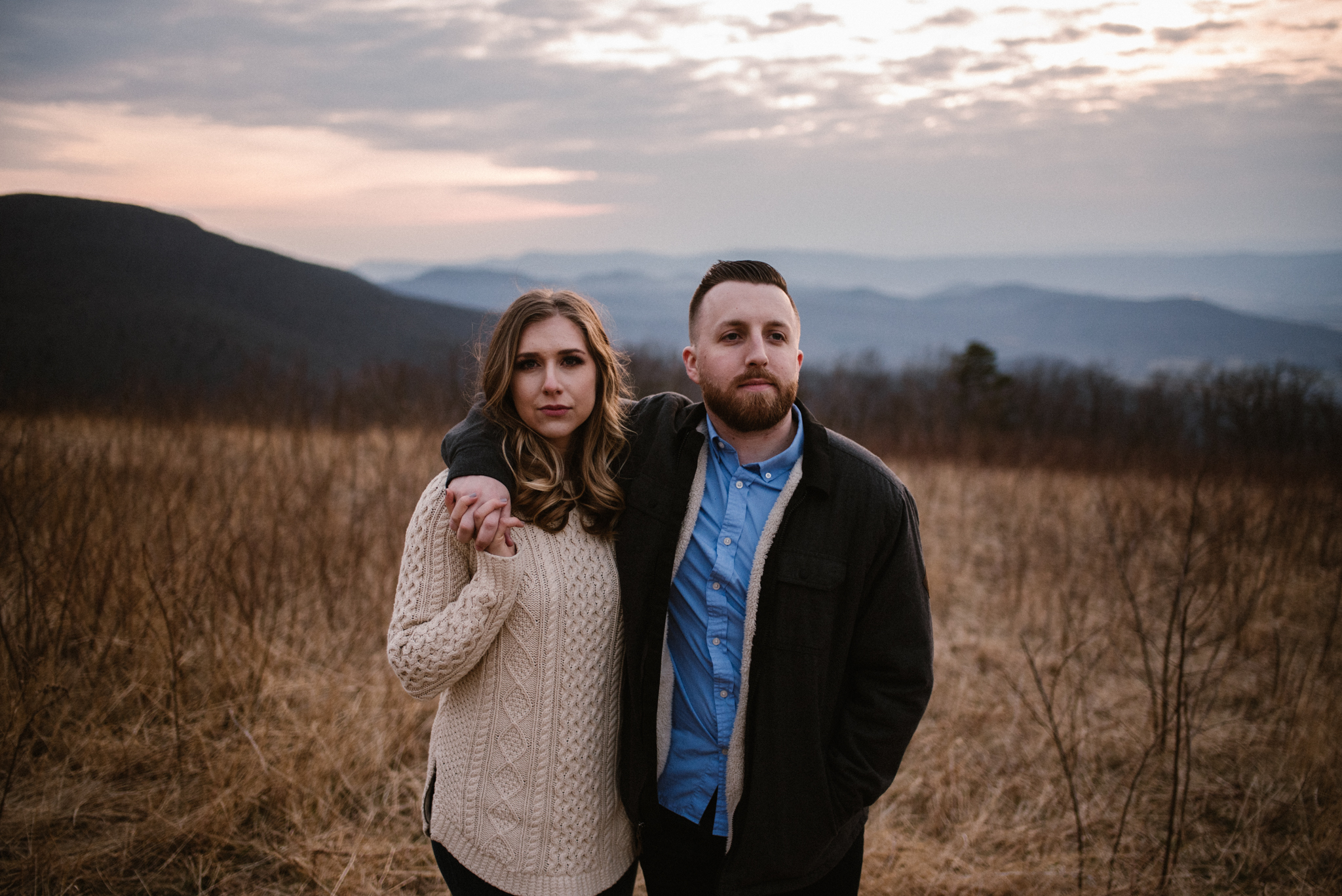 Nicole and Victor - Shenandoah National Park Engagement Photography - Blue Ridge Mountains Adventure Photography - White Sails Creative Photography_37.jpg