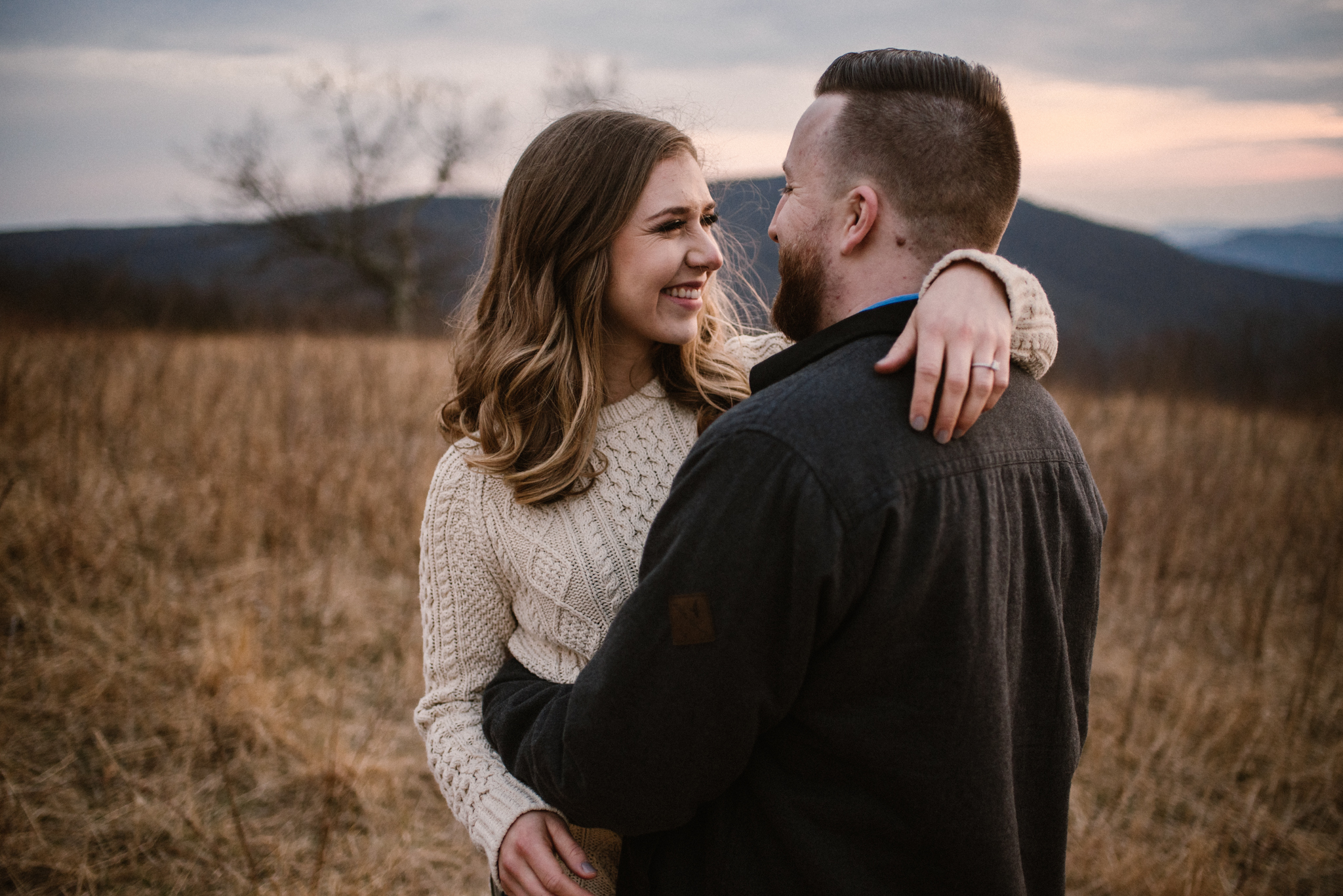 Nicole and Victor - Shenandoah National Park Engagement Photography - Blue Ridge Mountains Adventure Photography - White Sails Creative Photography_38.jpg