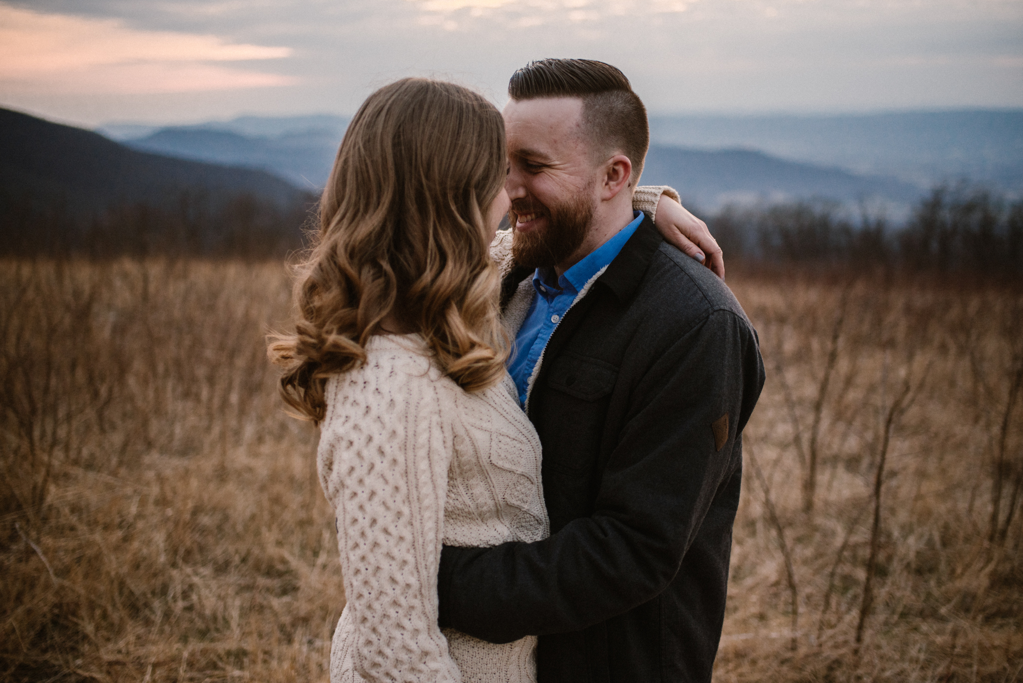 Nicole and Victor - Shenandoah National Park Engagement Photography - Blue Ridge Mountains Adventure Photography - White Sails Creative Photography_39.jpg
