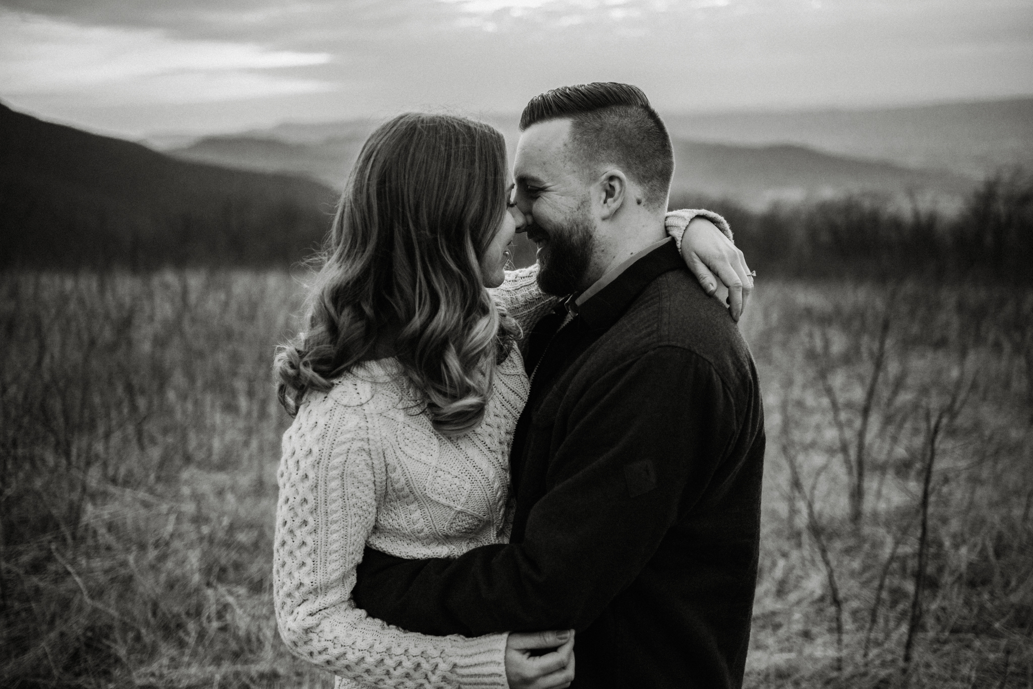 Nicole and Victor - Shenandoah National Park Engagement Photography - Blue Ridge Mountains Adventure Photography - White Sails Creative Photography_41.jpg