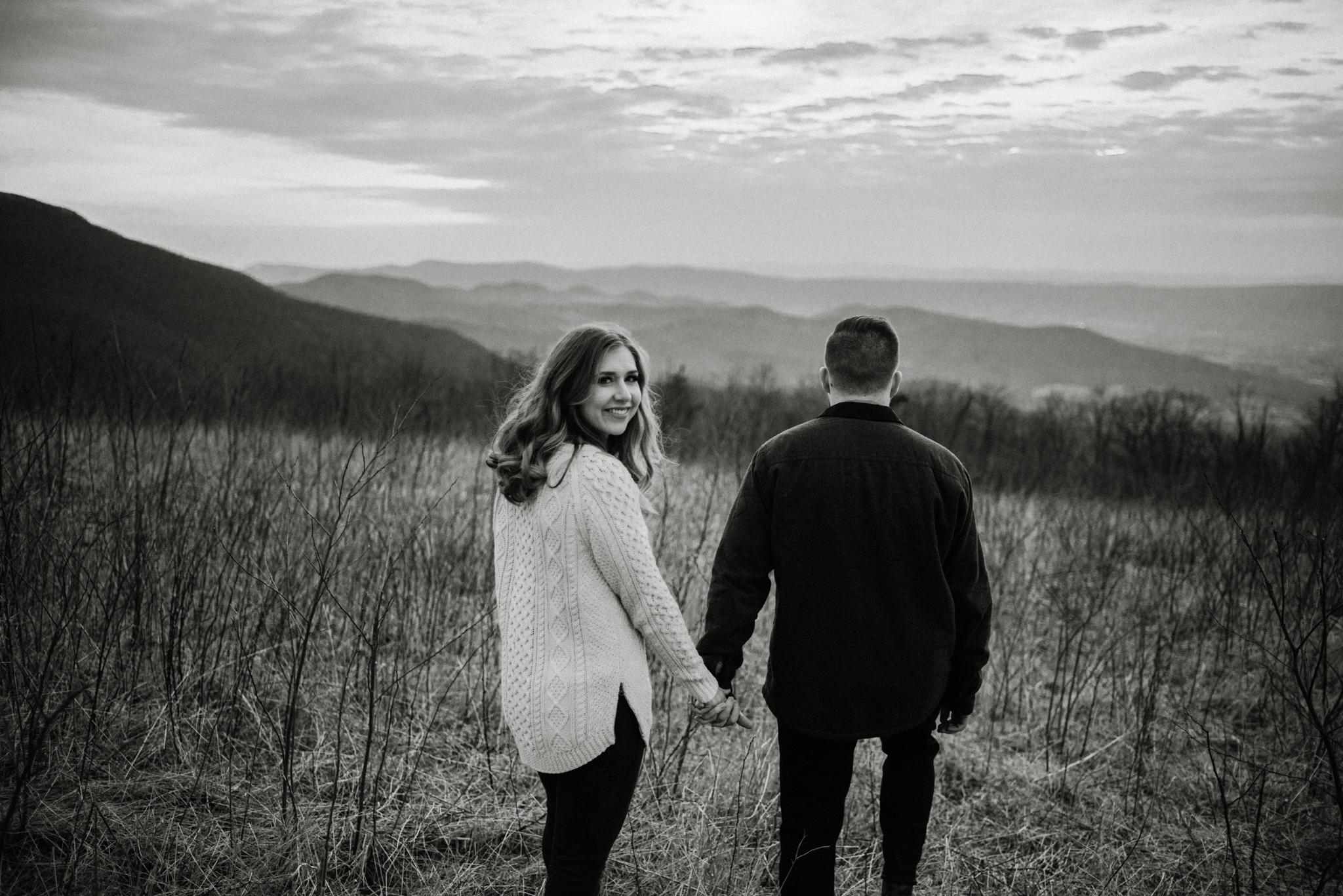 Nicole and Victor - Shenandoah National Park Engagement Photography - Blue Ridge Mountains Adventure Photography - White Sails Creative Photography_42.jpg