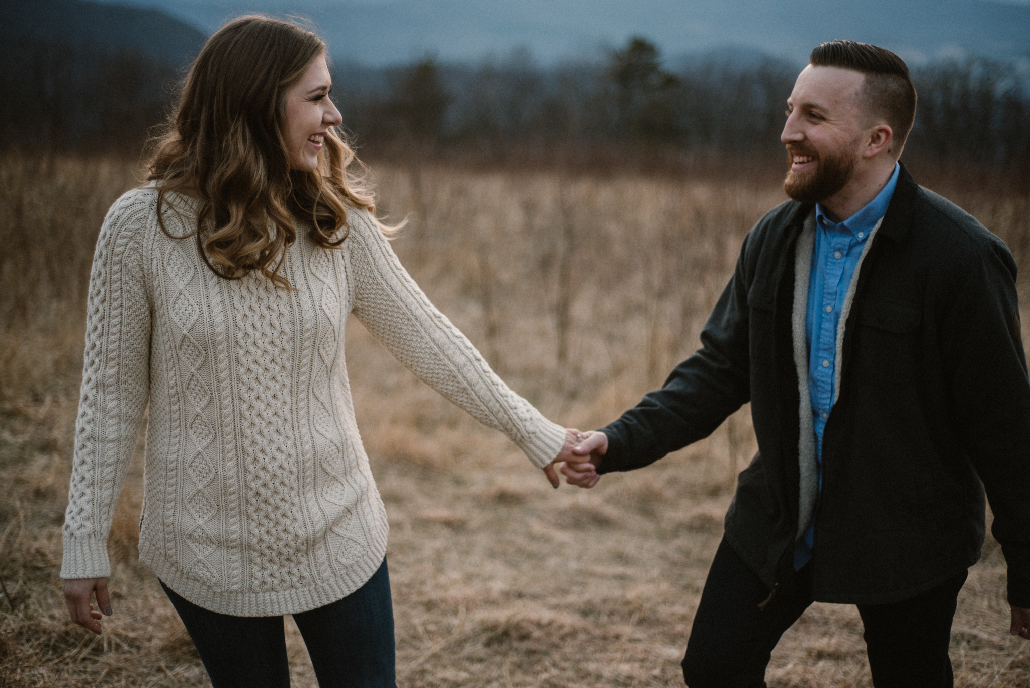 Nicole and Victor - Shenandoah National Park Engagement Photography - Blue Ridge Mountains Adventure Photography - White Sails Creative Photography_43.jpg